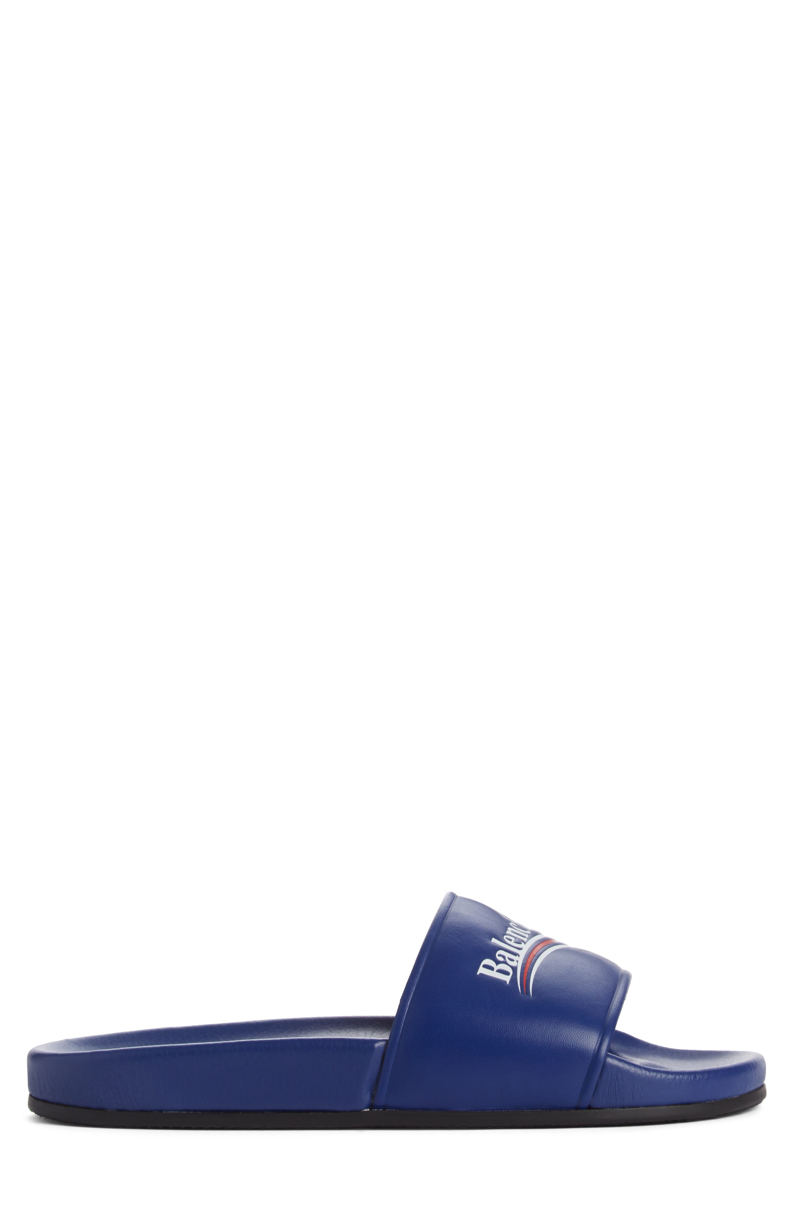 Alternate Image 3  - Balenciaga Retro Logo Slide Sandal (Men)