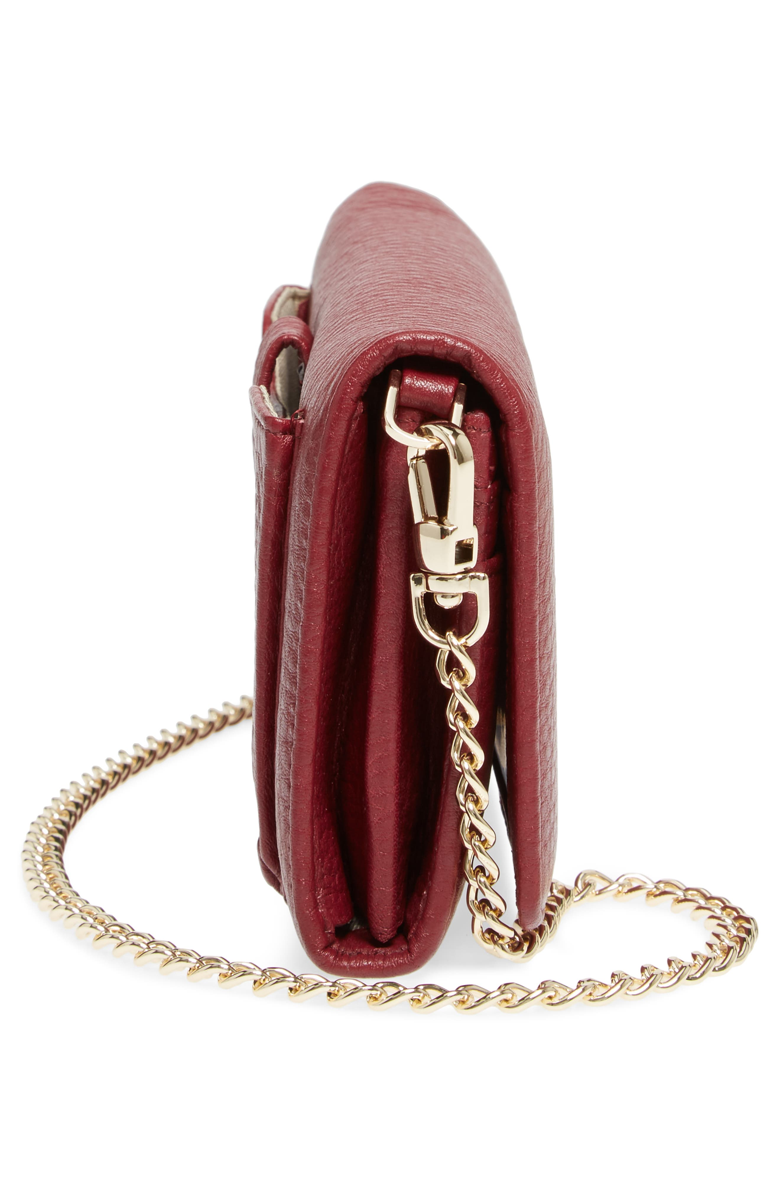 Alternate Image 5  - Céline Dion Adagio Leather Crossbody Wallet