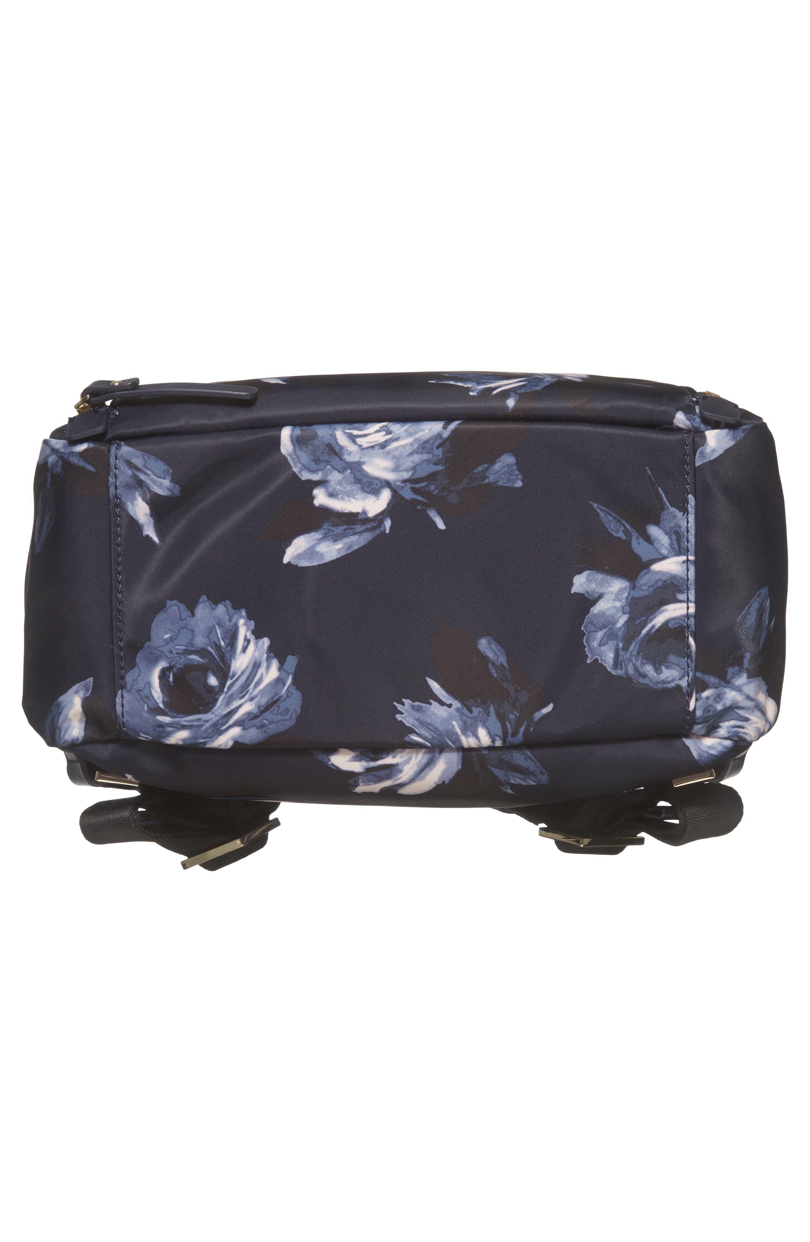 watson lane night rose hartley nylon backpack,                             Alternate thumbnail 6, color,                             Night Rose