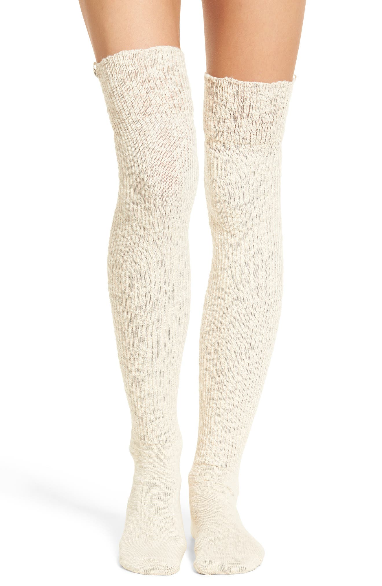 UGG® Slouchy Slubbed Thigh High Socks