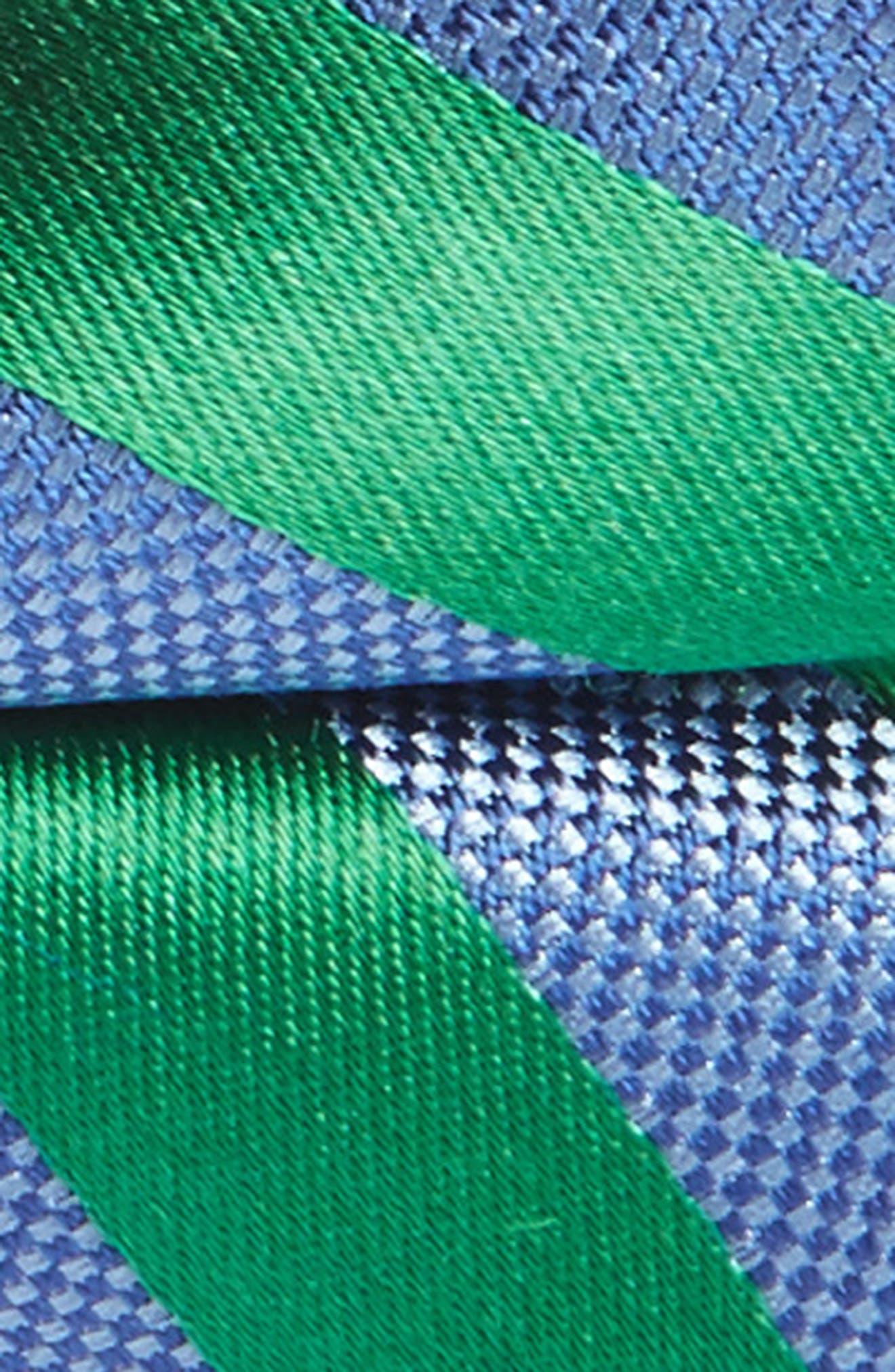 Alternate Image 2  - Nordstrom Stripe Silk Bow Tie (Big Boys)
