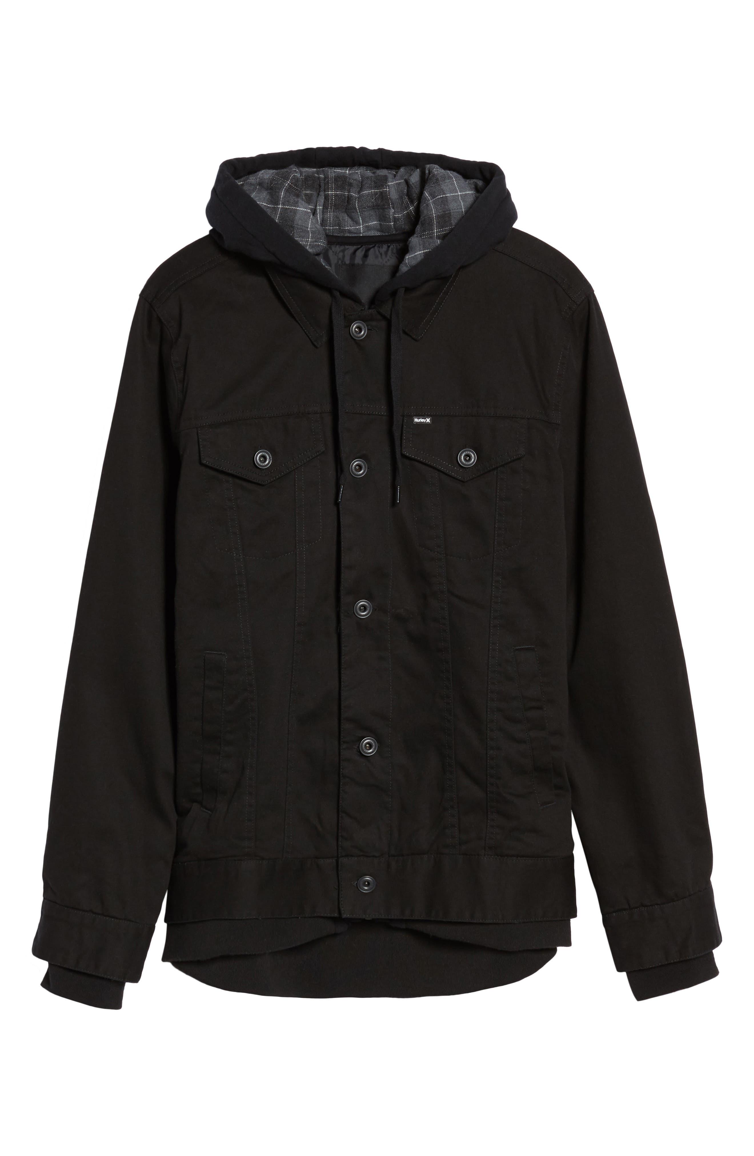 Alternate Image 6  - Hurley Mac Trucker 3.0 Hooded Jacket