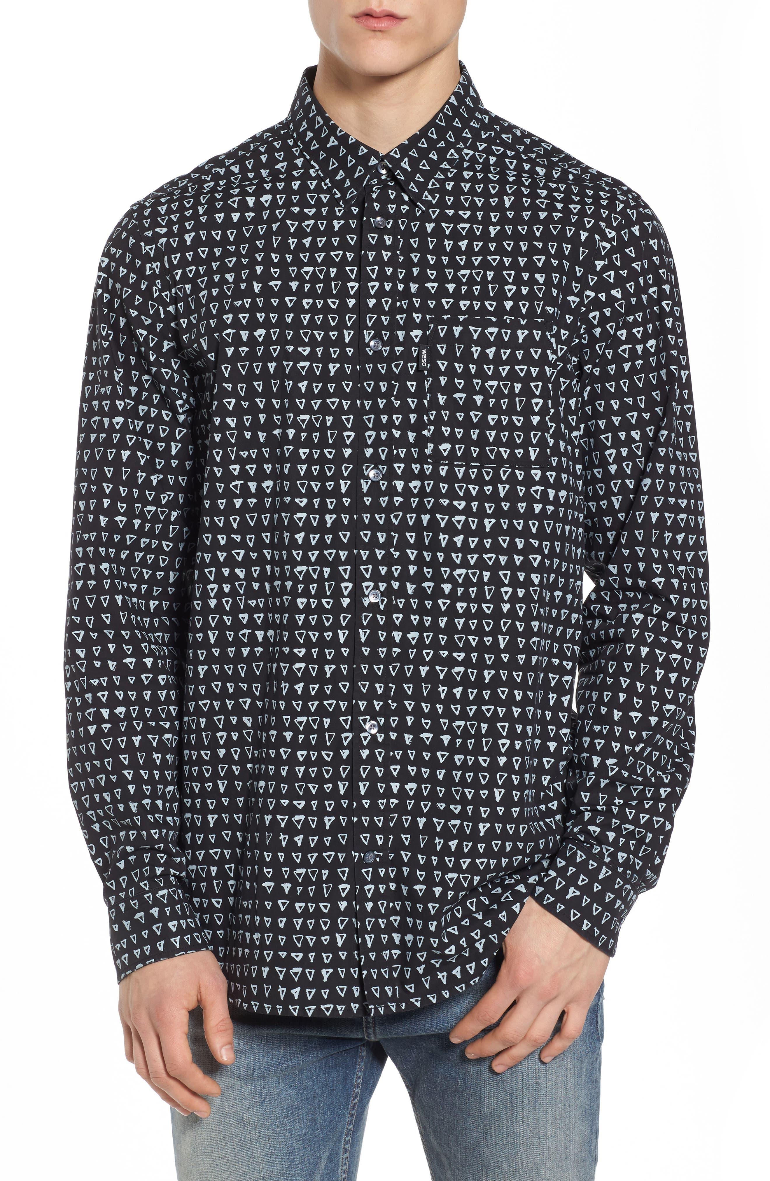 WeSC Nicolas Print Shirt