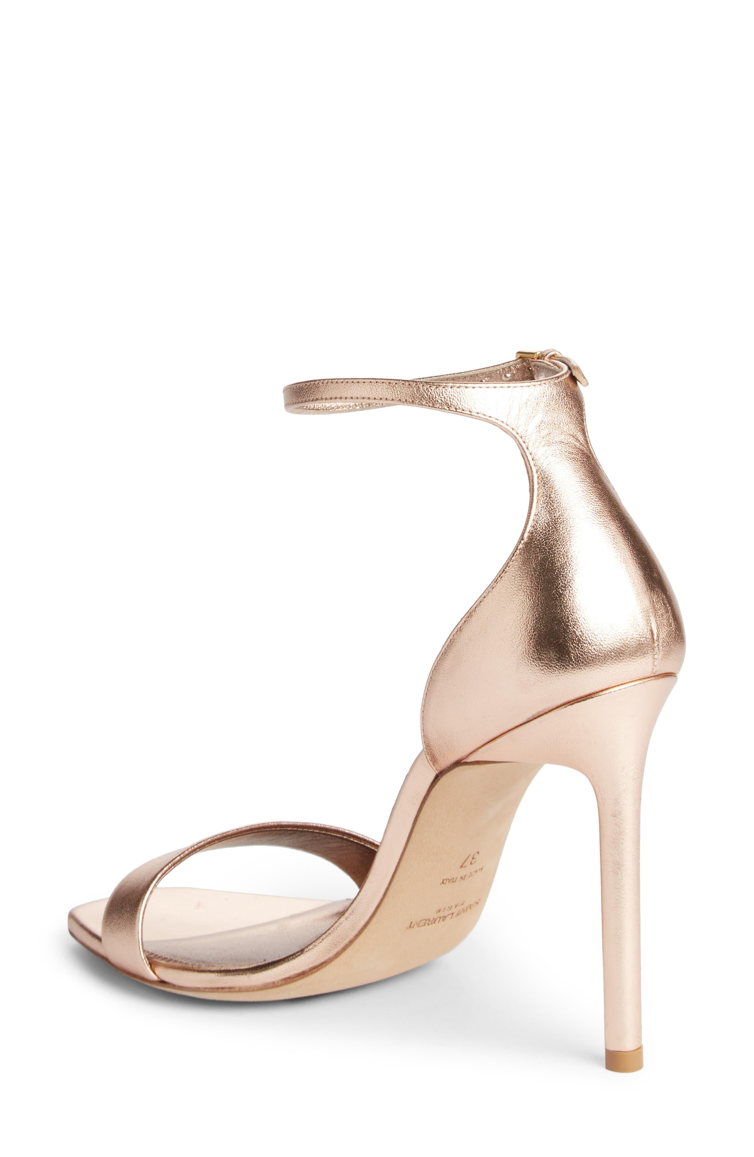 Alternate Image 2  - Saint Laurent Amber Ankle Strap Sandal (Women)