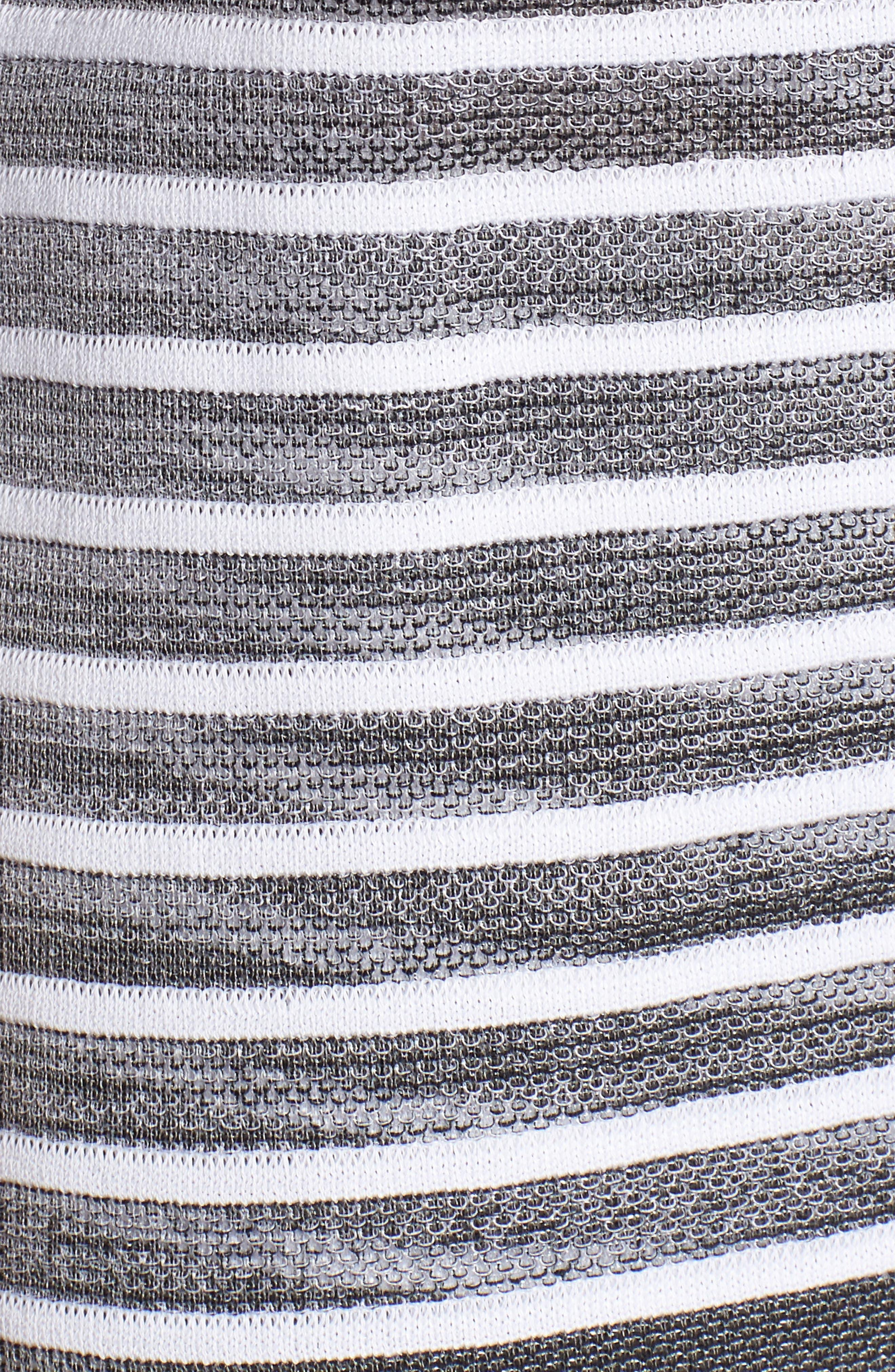 Alternate Image 5  - Ming Wang Stripe Jacquard Jacket