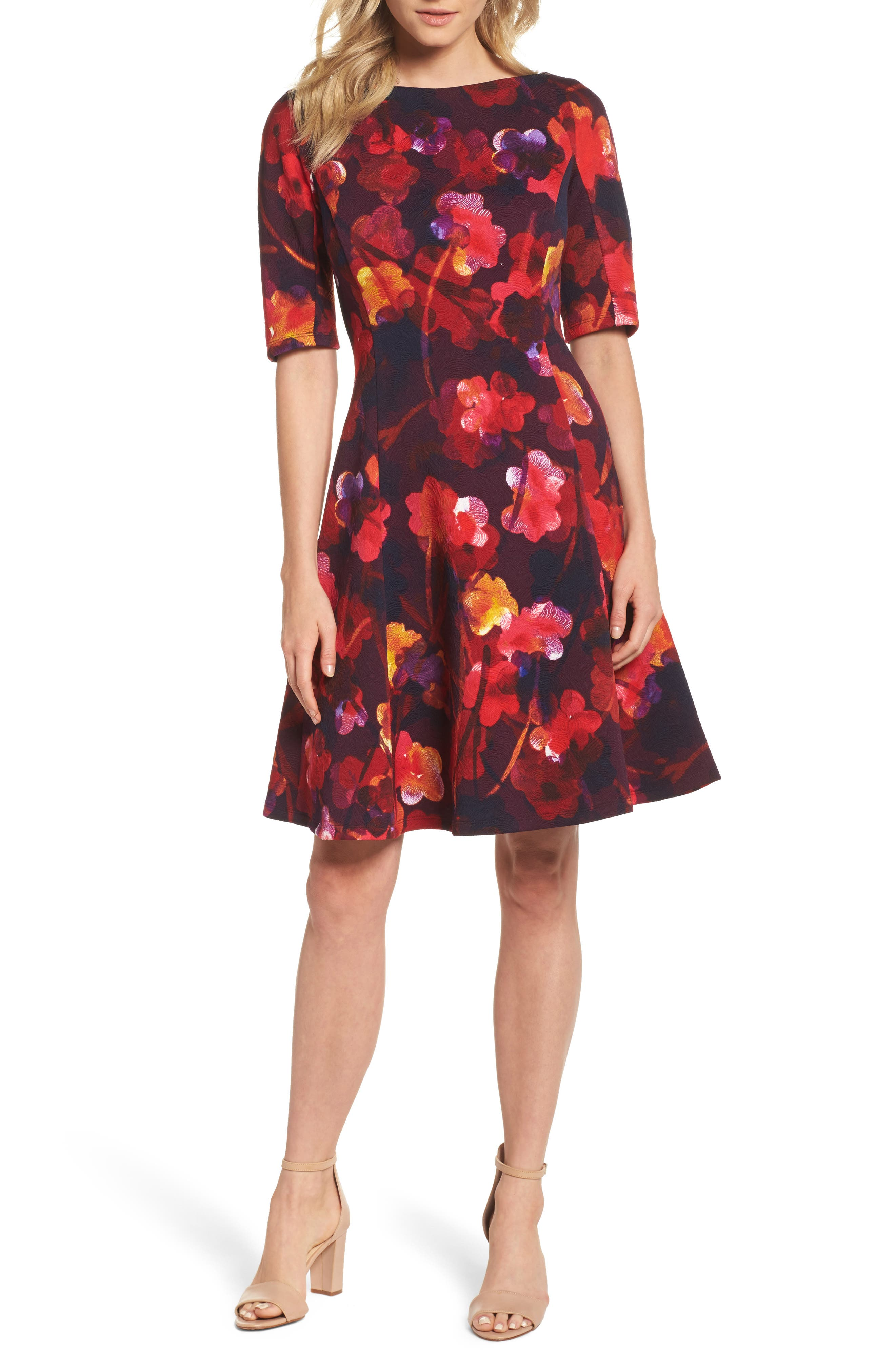 Alternate Image 1 Selected - Maggy London Fit & Flare Dress