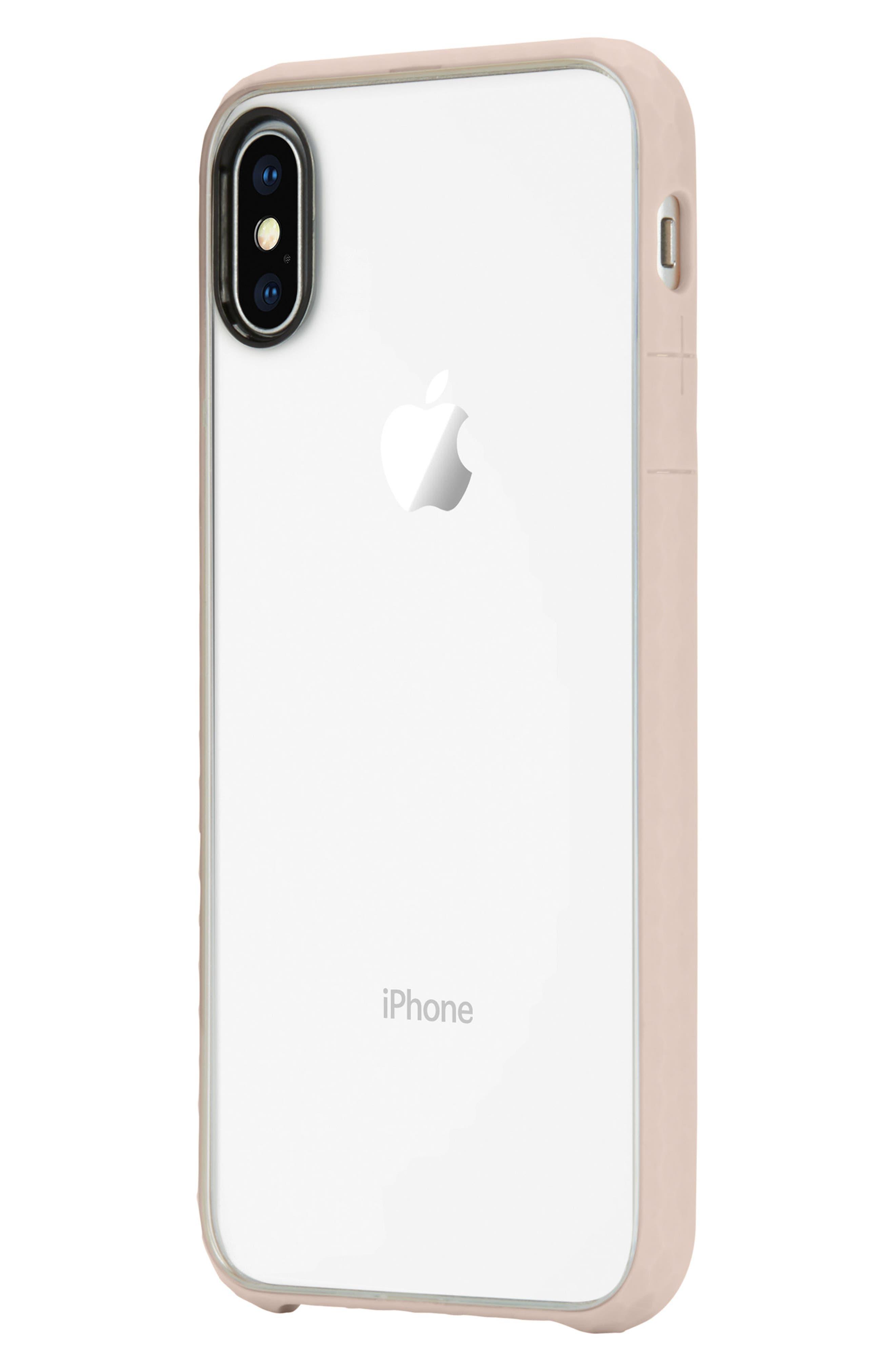 Pop iPhone X Case,                             Alternate thumbnail 3, color,                             Rose Gold