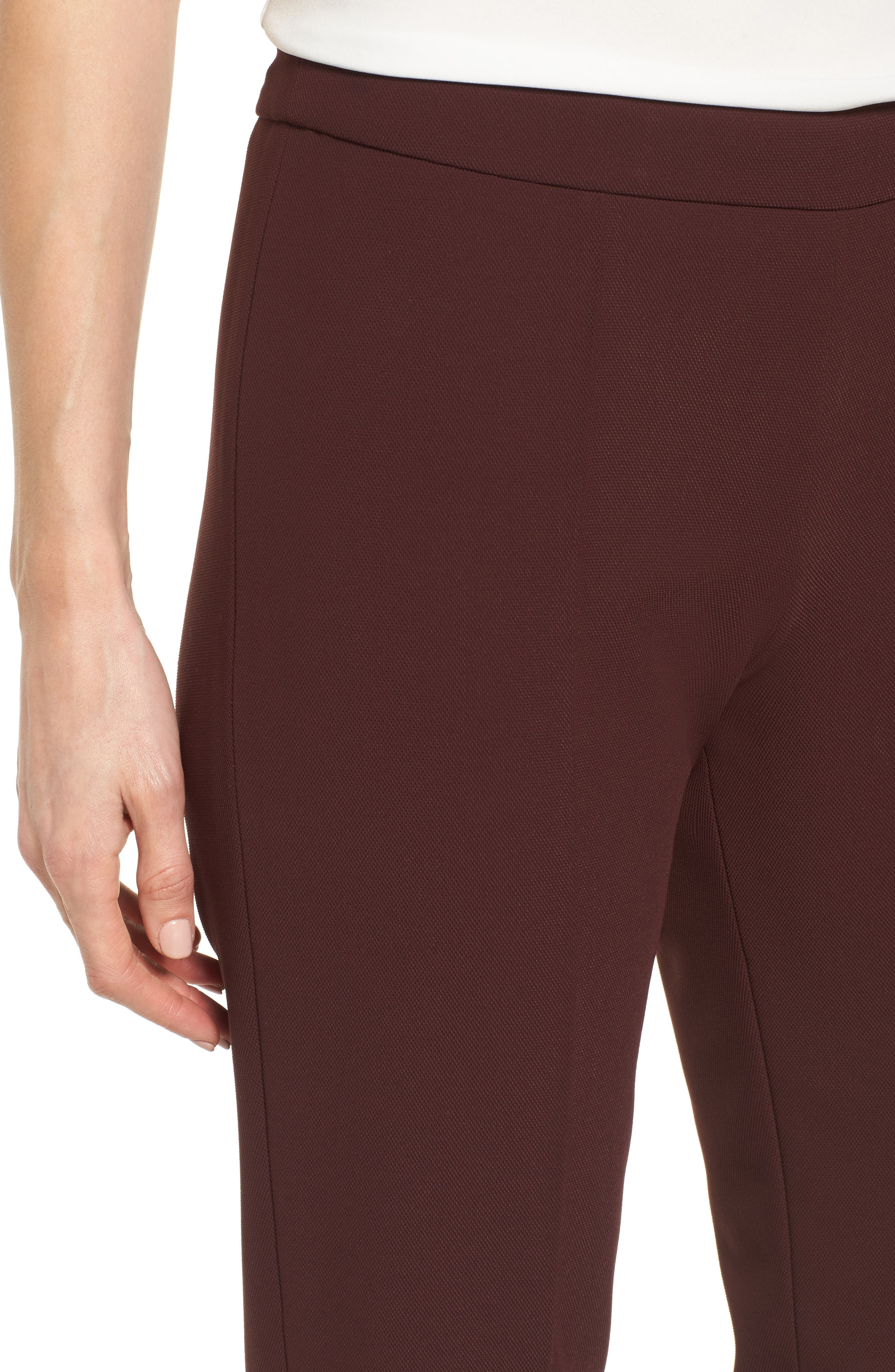 Side Zip Suit Trousers,                             Alternate thumbnail 5, color,                             Mulberry