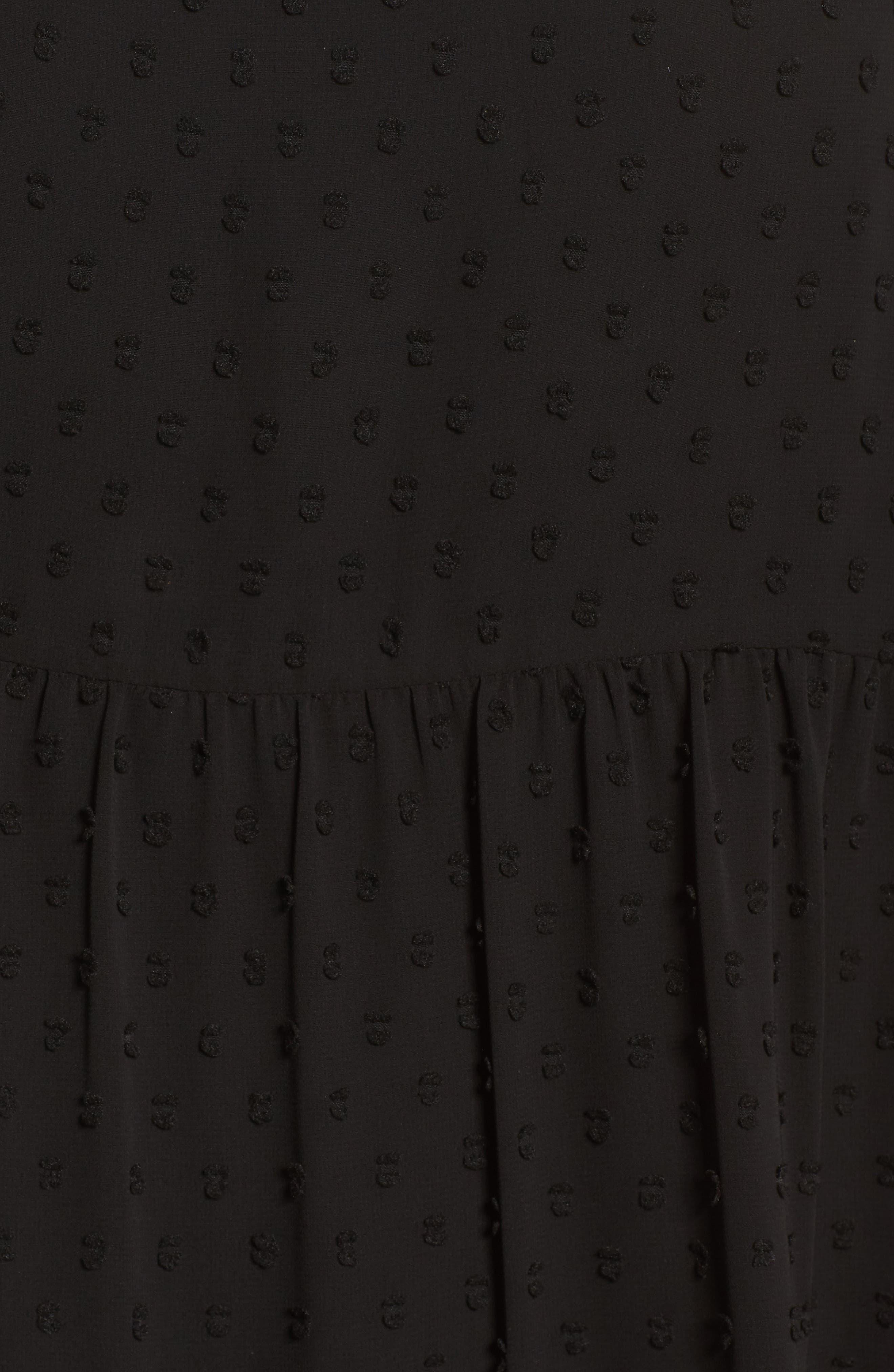 Bryden Minidress,                             Alternate thumbnail 4, color,                             Black