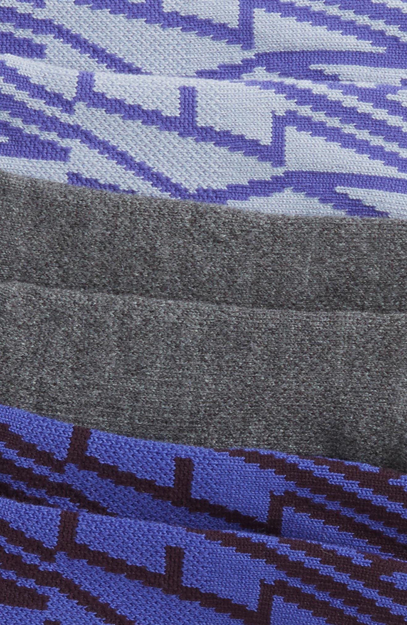 Alternate Image 2  - Nike Dry 3-Pack Cushioned No-Show Socks