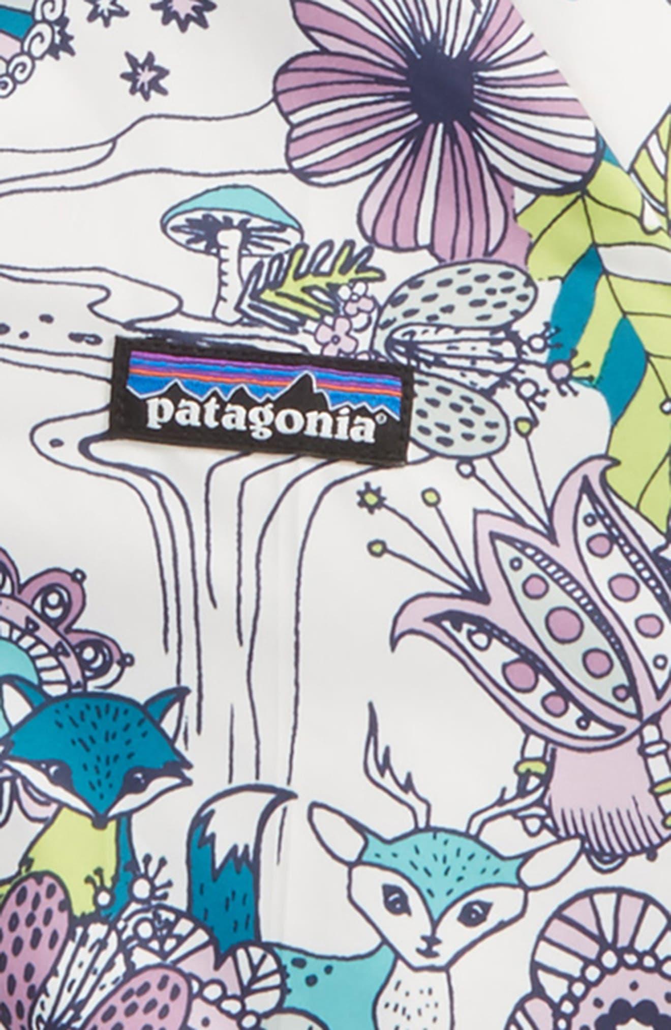 Alternate Image 2  - Patagonia 'Puff-Ball' Water Resistant Reversible Hooded Jacket (Toddler Girls)