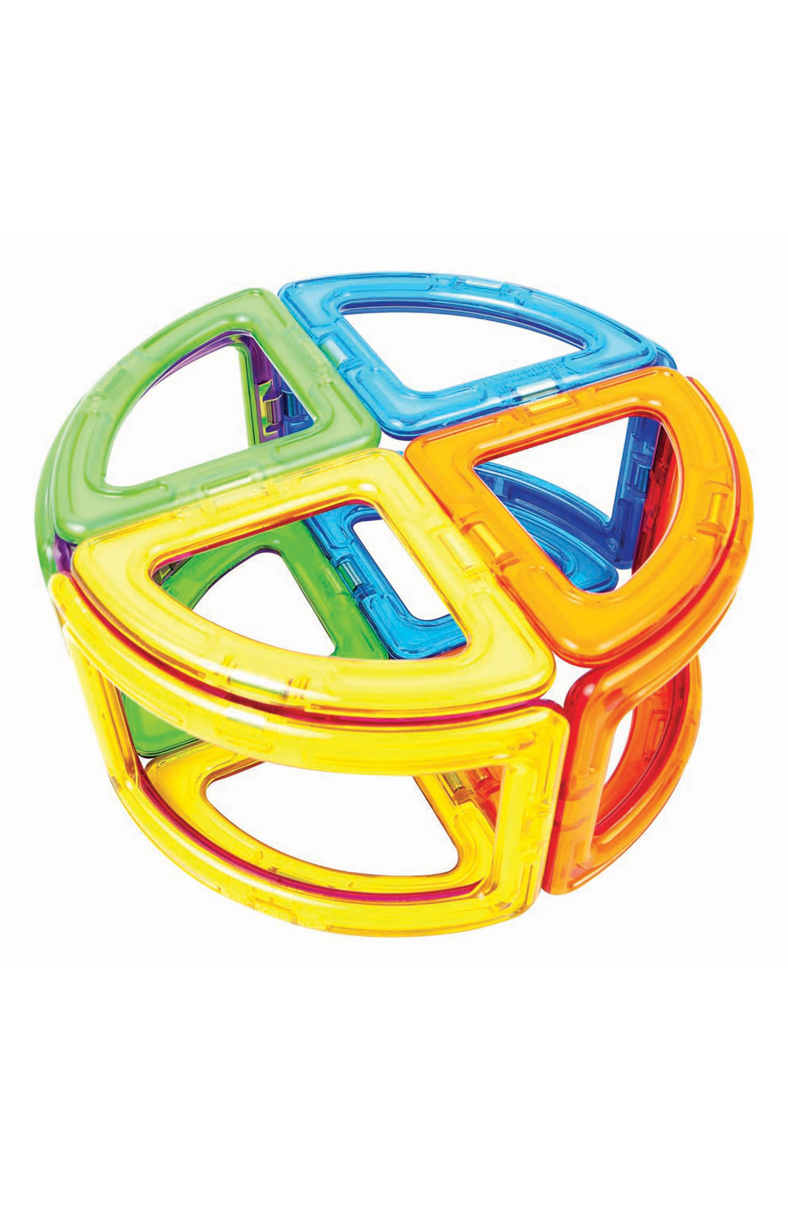 Alternate Image 2  - Magformers 20-Piece Curve Magnetic 3D Construction Set
