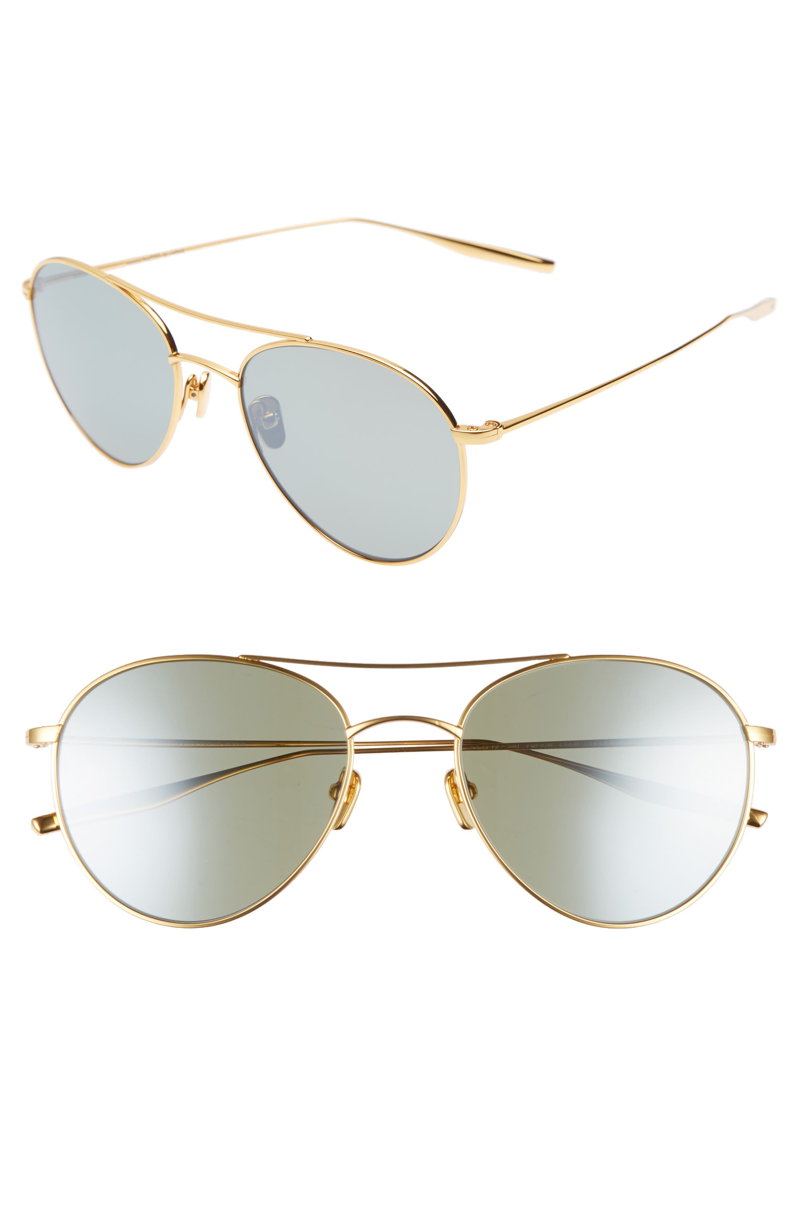 Main Image - Salt 54mm Polarized Round Sunglasses