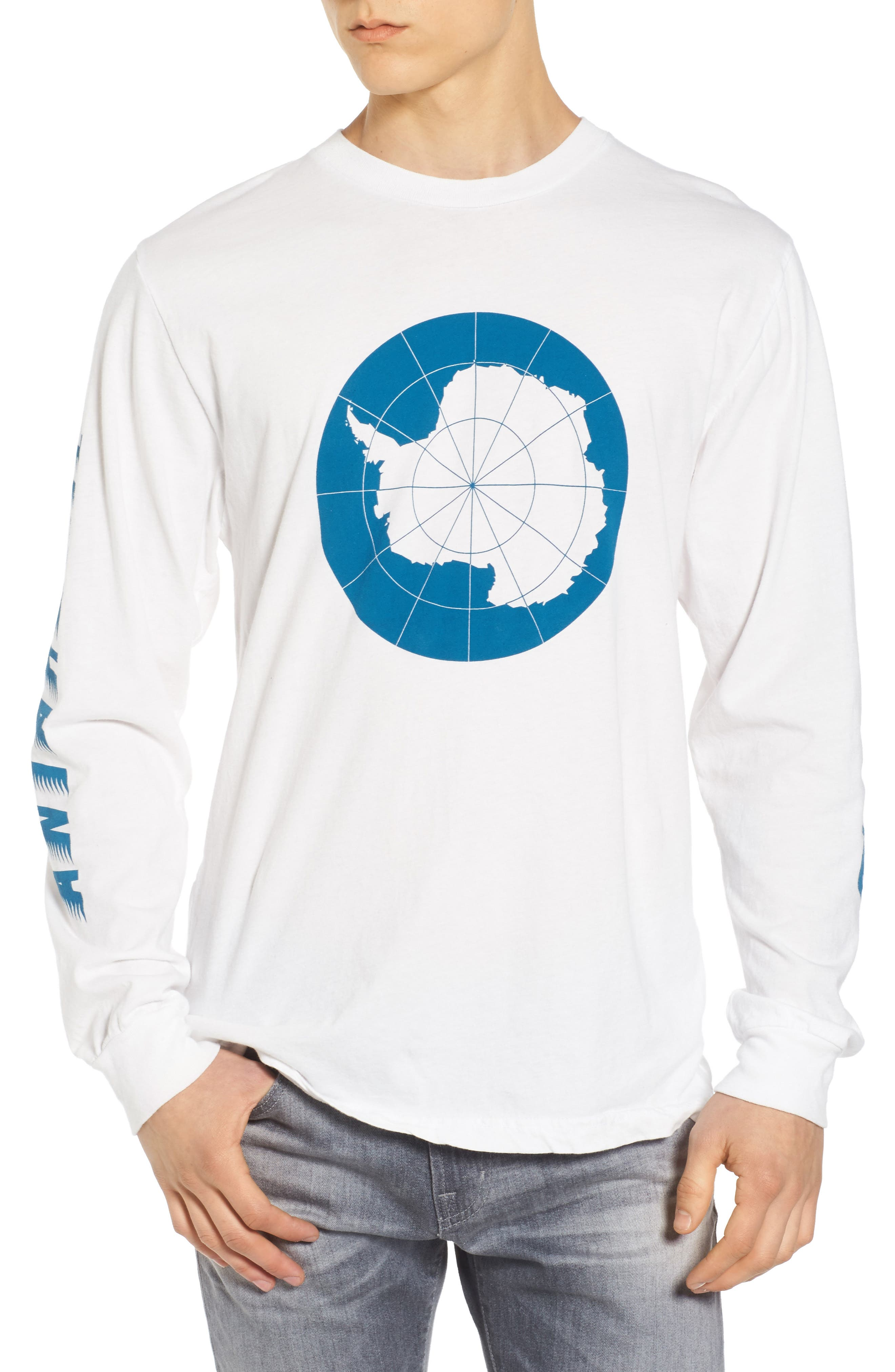 Arctic Ski Club T-Shirt,                         Main,                         color, White