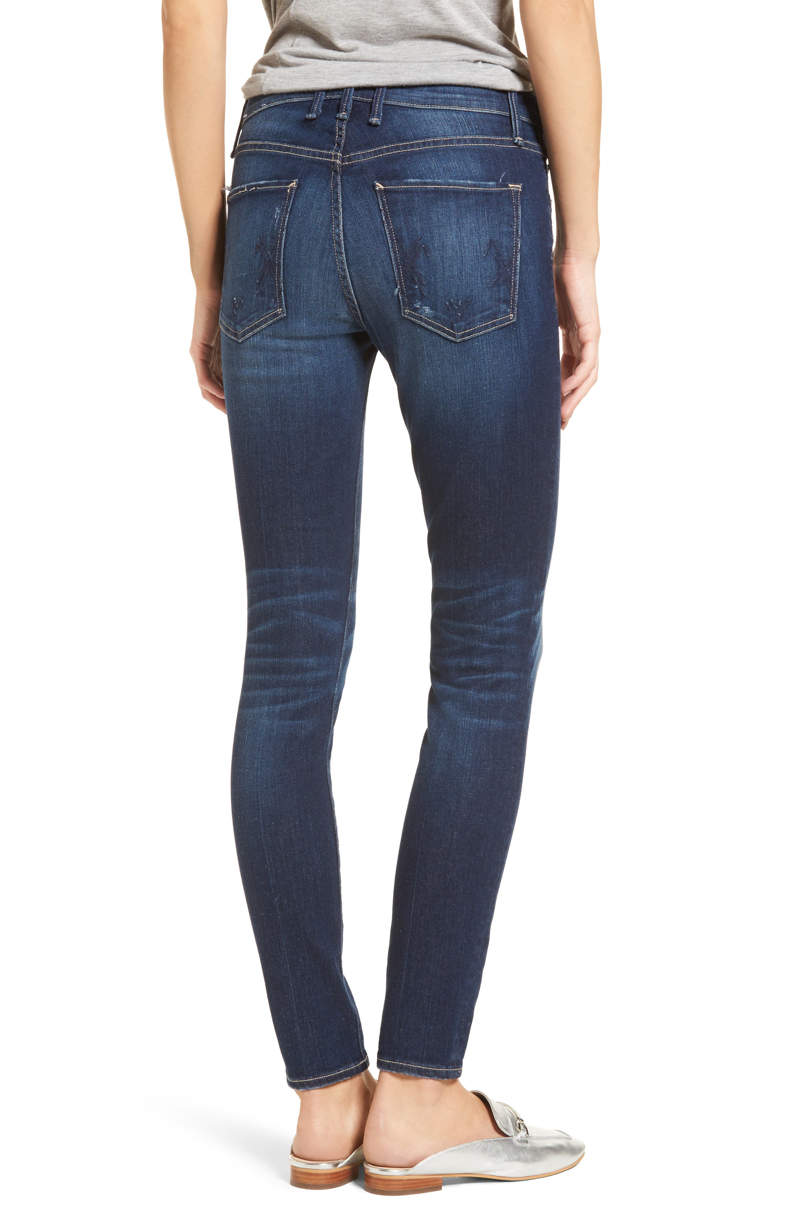 Newton Skinny Jeans,                             Alternate thumbnail 2, color,                             Chateau