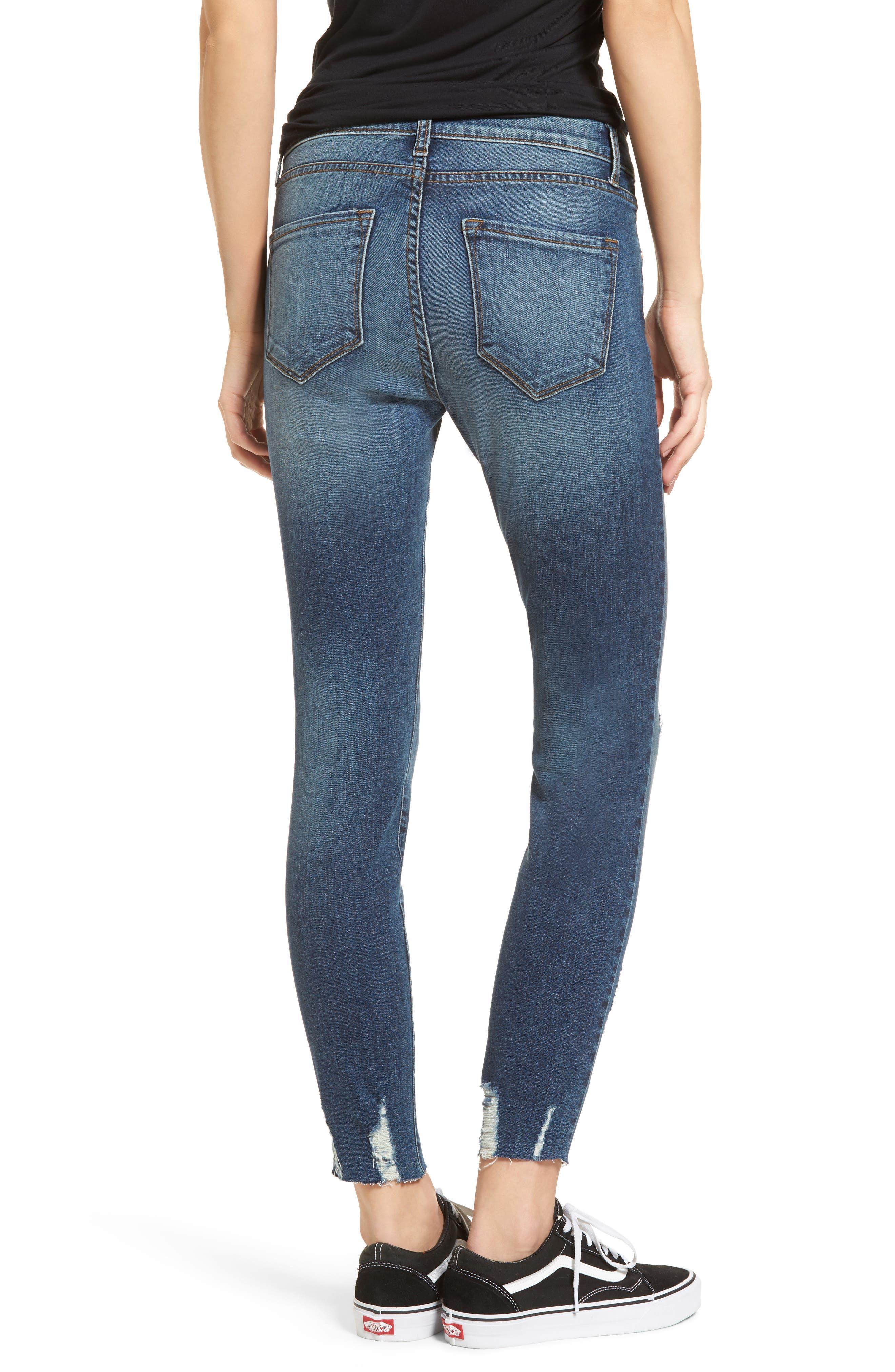 Decon Distressed Skinny Jeans,                             Alternate thumbnail 2, color,                             Vintage