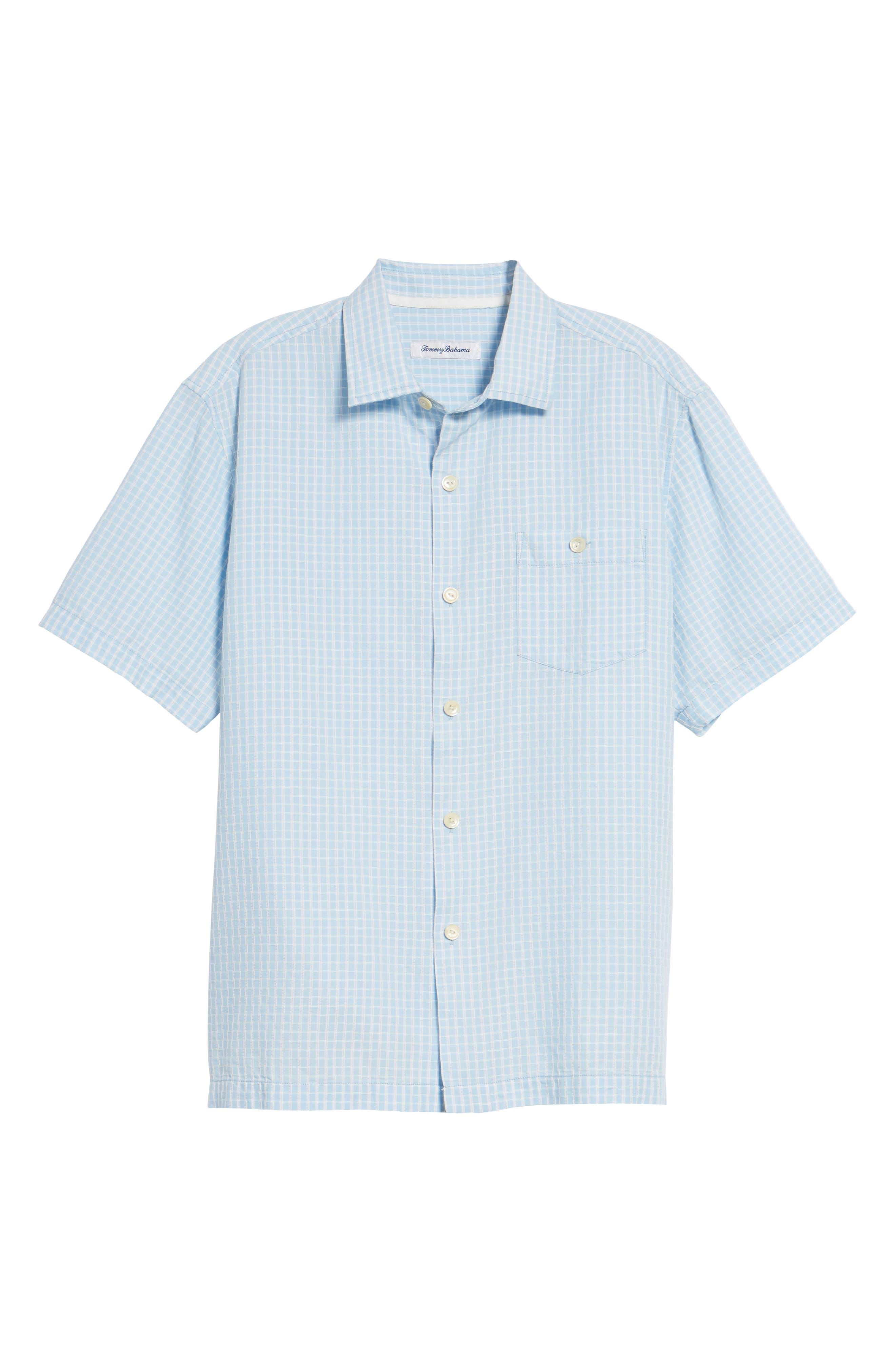 Once in a Tile Regular Fit Sport Shirt,                             Alternate thumbnail 6, color,                             Opal
