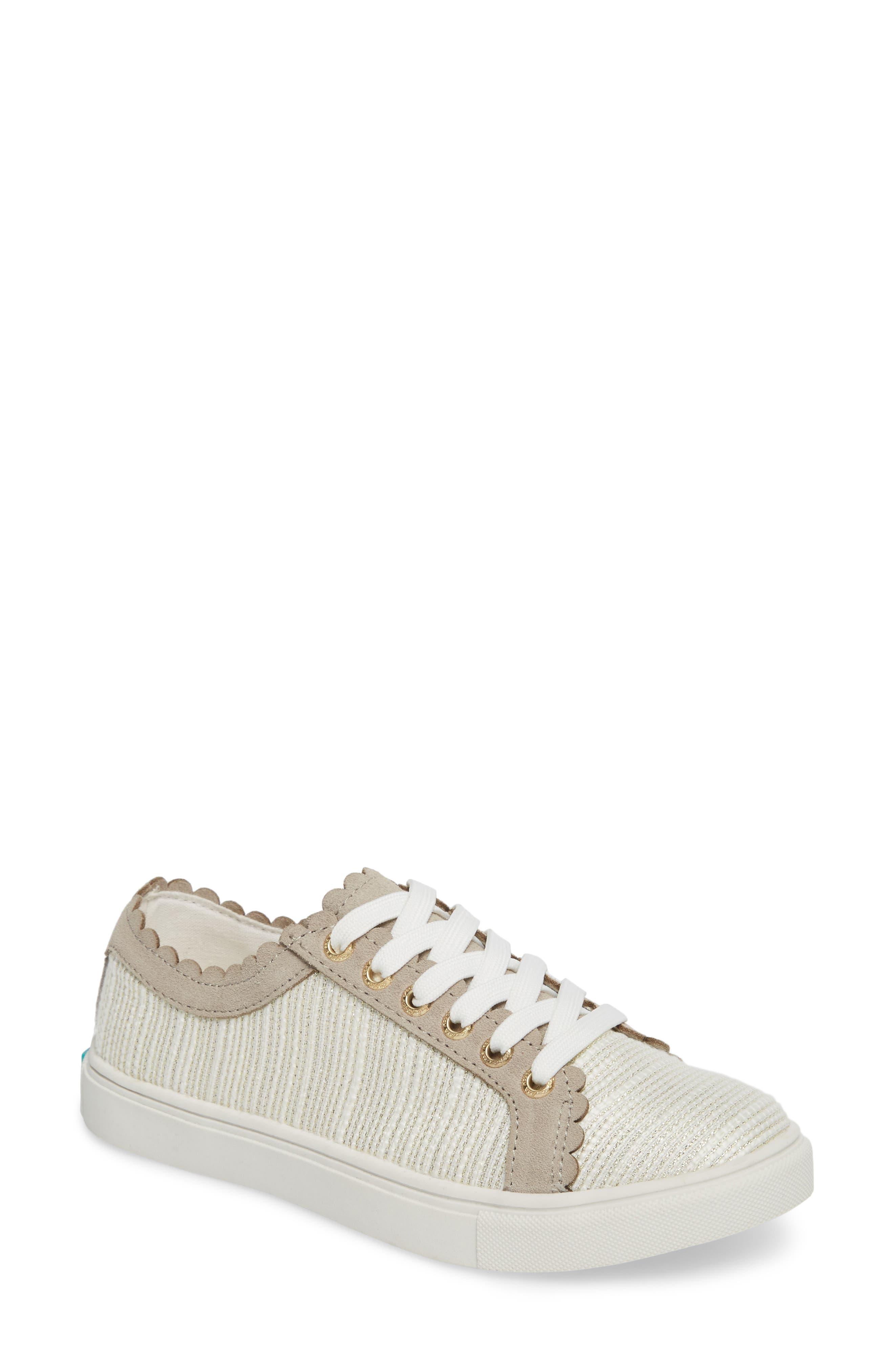 Teagan Sneaker,                         Main,                         color, Ecru