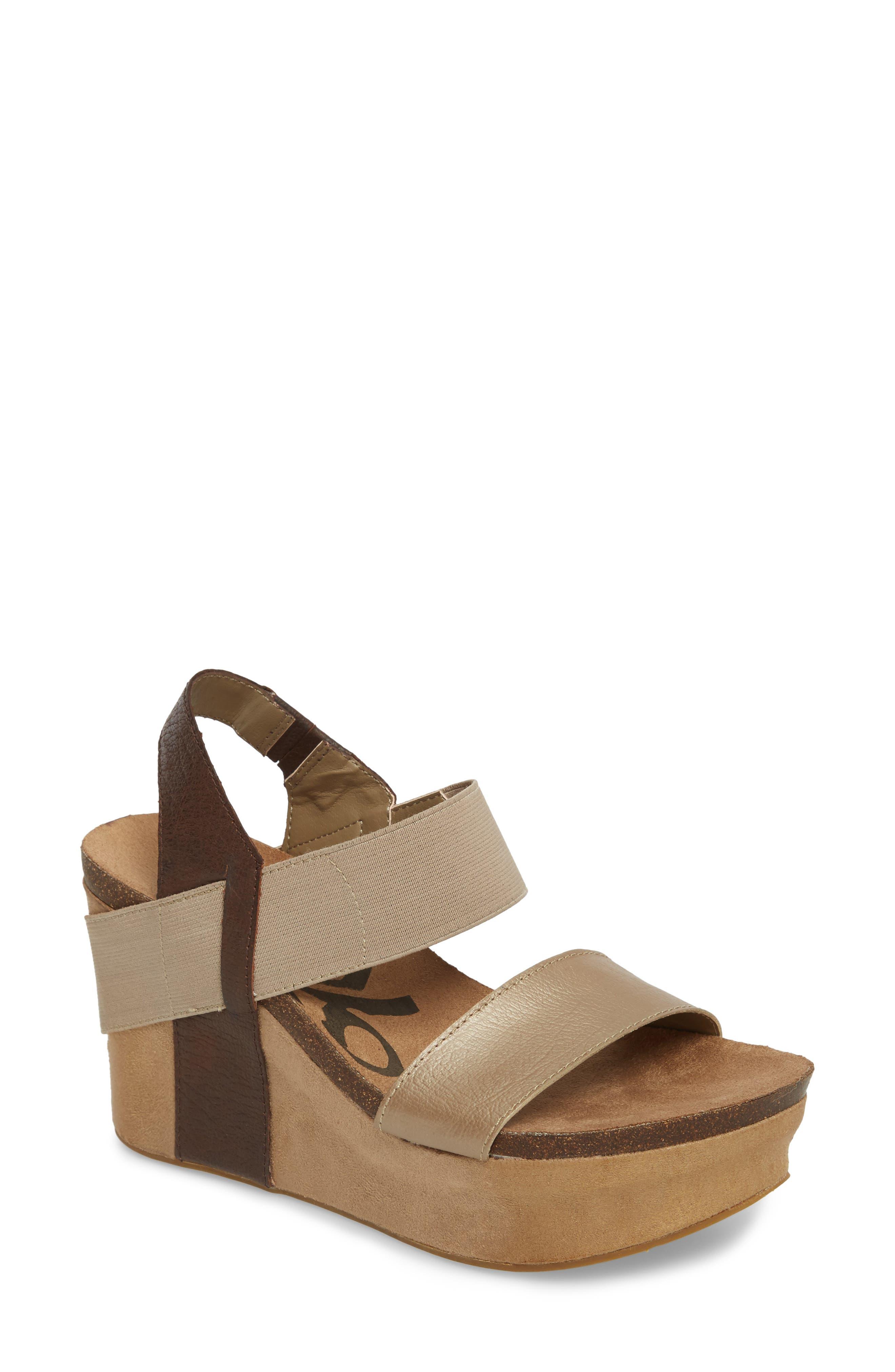 Alternate Image 1 Selected - OTBT 'Bushnell' Wedge Sandal