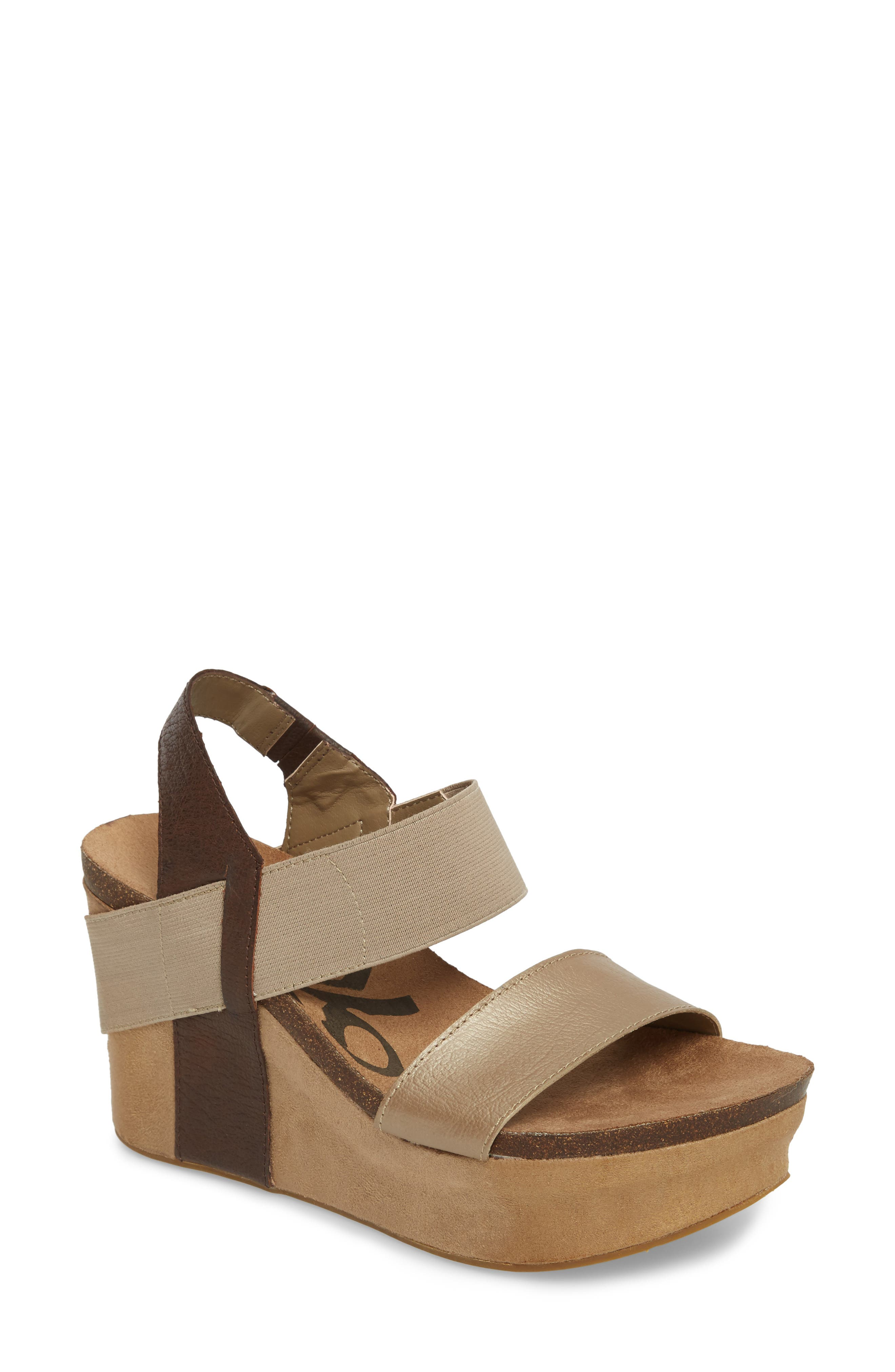 Main Image - OTBT 'Bushnell' Wedge Sandal