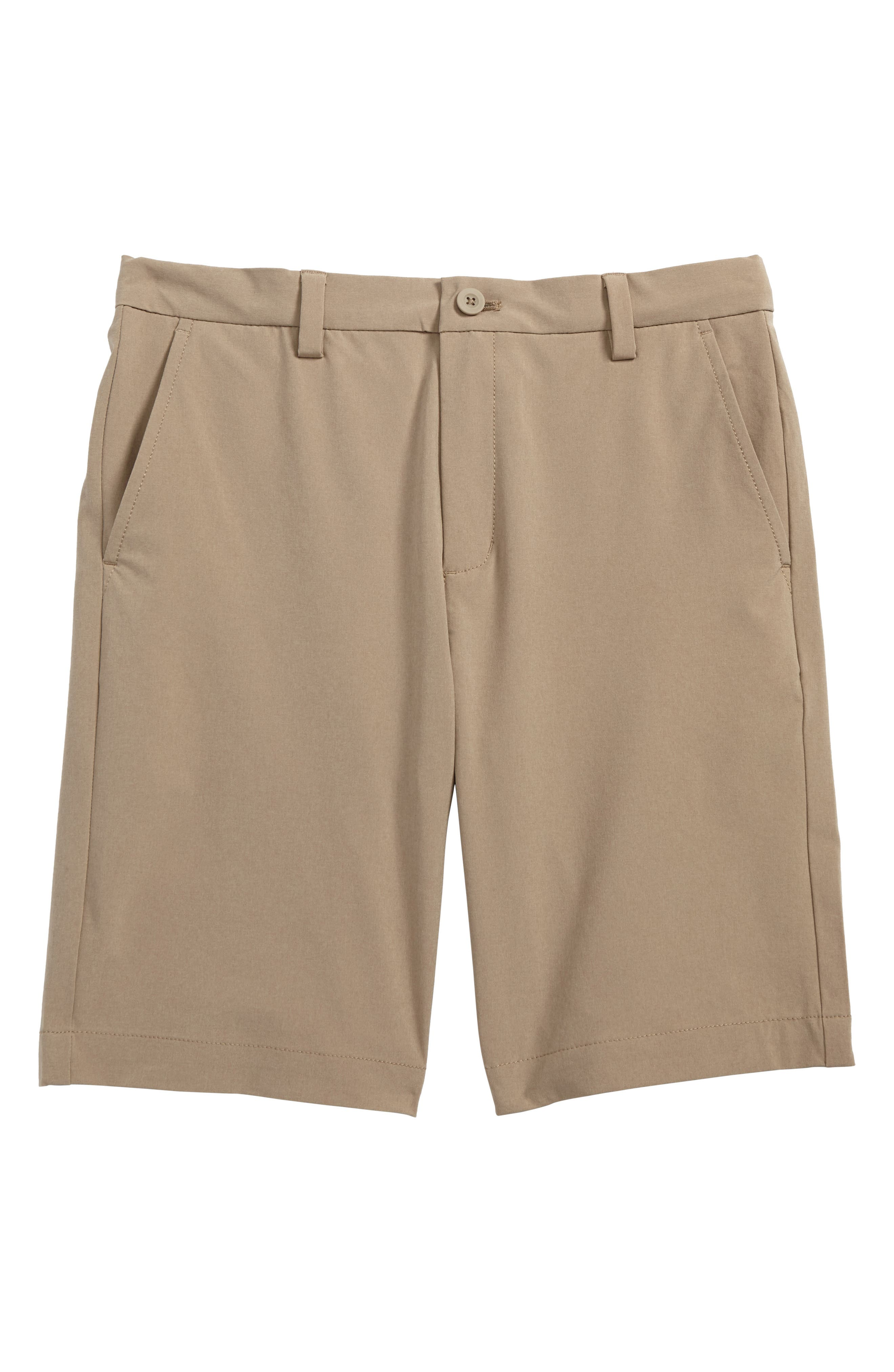 Performance Breaker Shorts,                         Main,                         color, Khaki