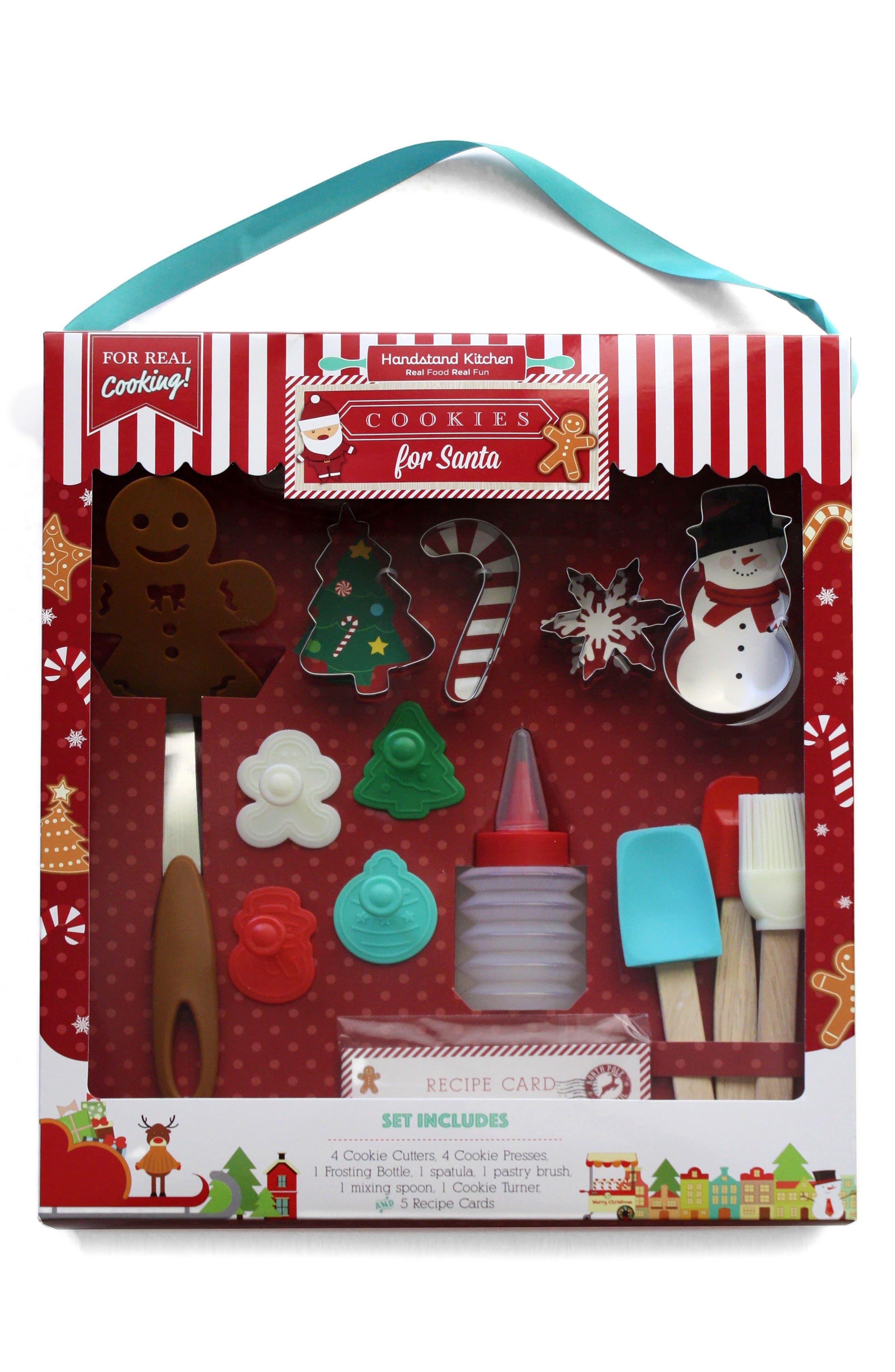 Handstand Kids Cookies for Santa Kit