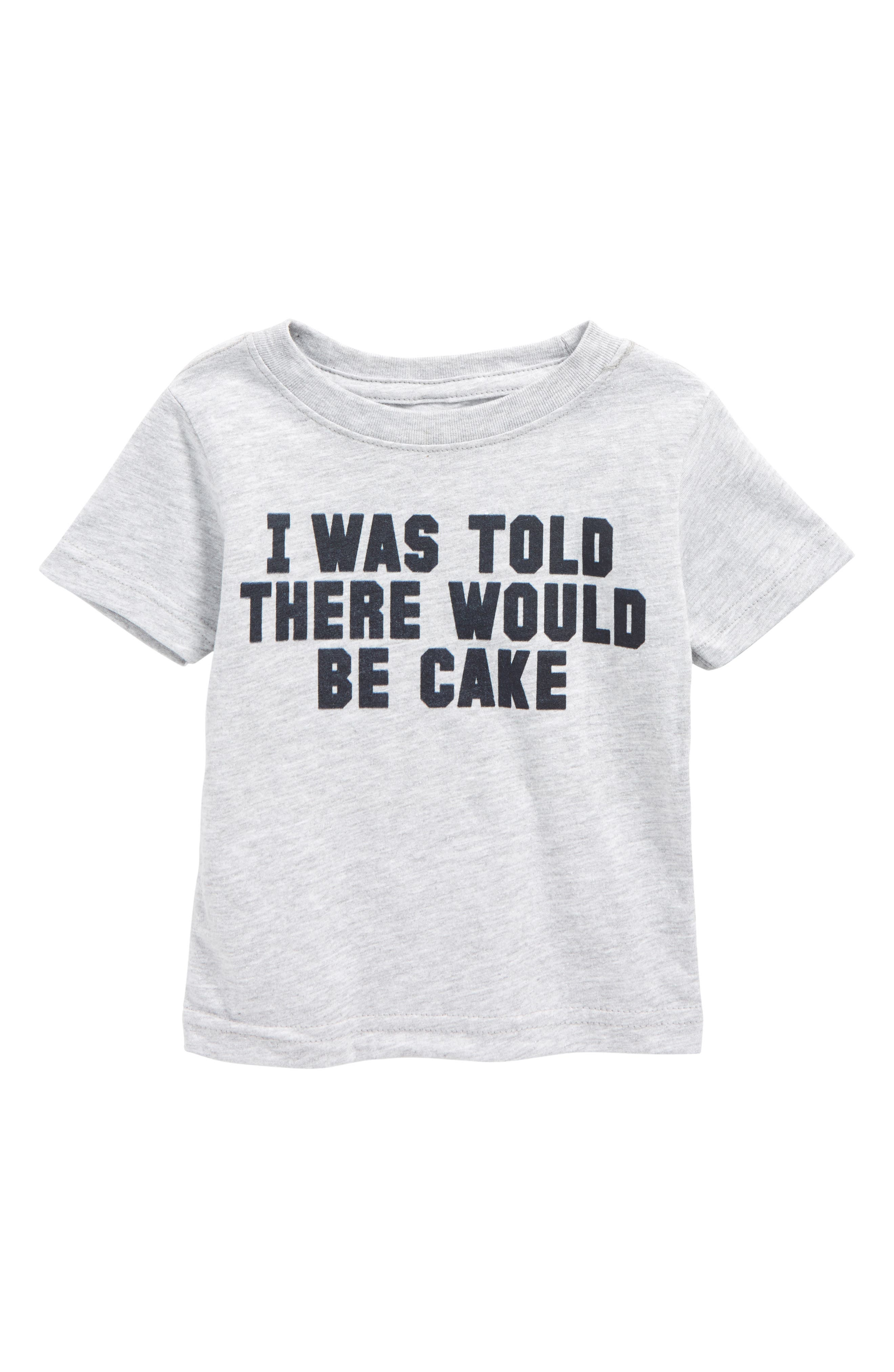 Kid Dangerous I Was Told There Would Be Cake T-Shirt (Baby)