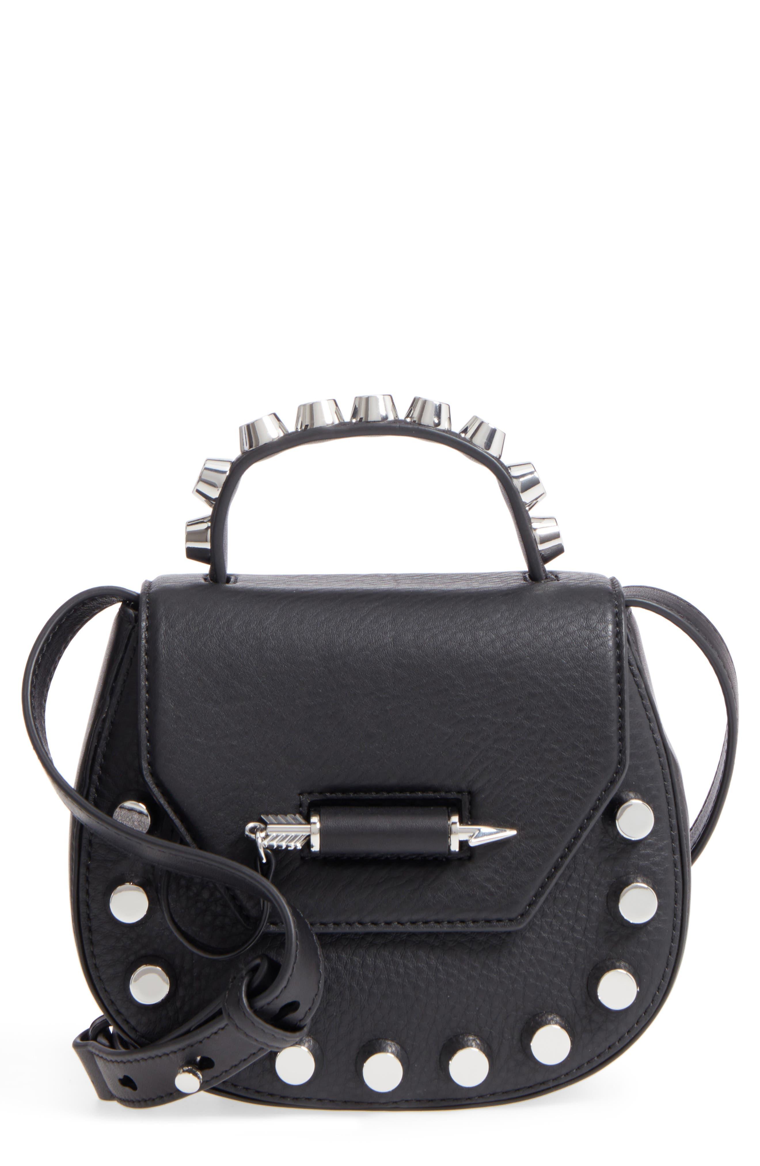 Main Image - Mackage Wilma Studded Leather Crossbody Bag
