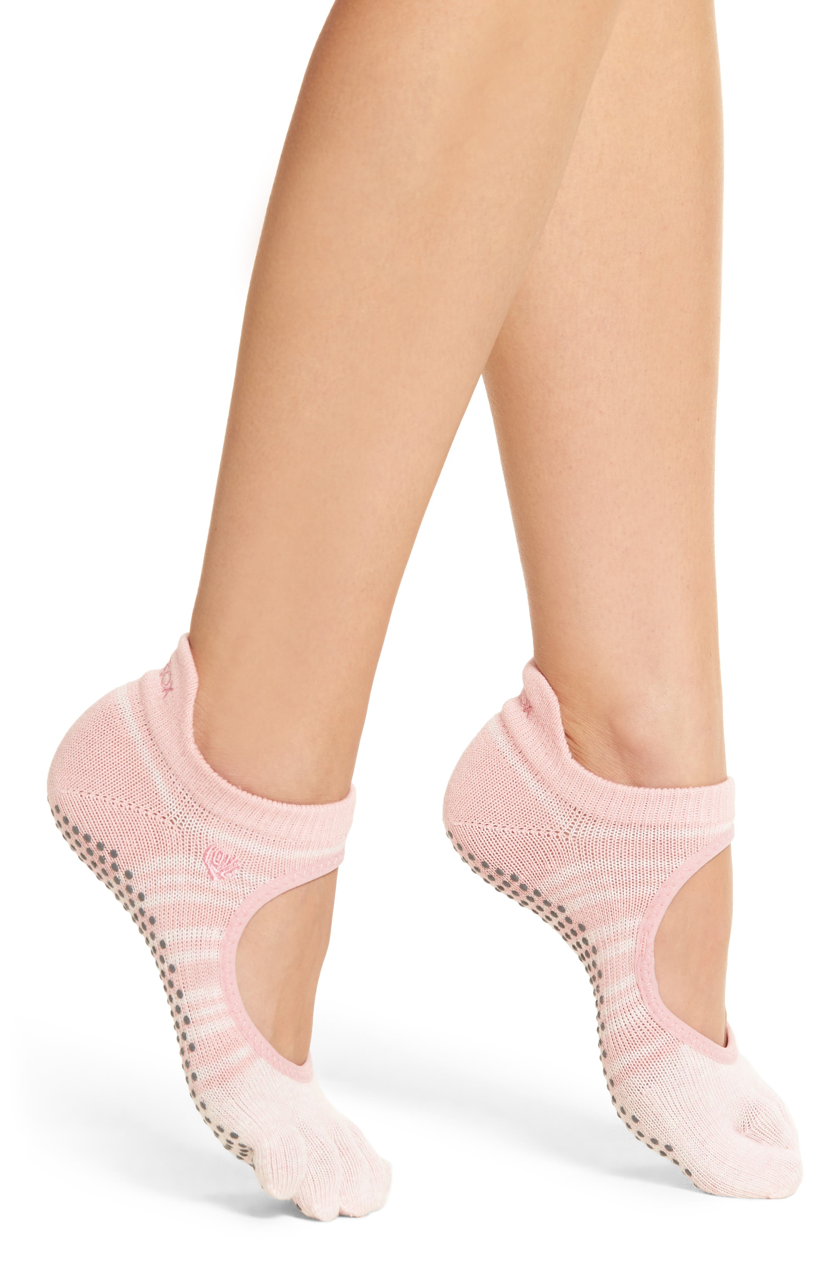 Alternate Image 1 Selected - ToeSox Bellarina Full Toe Gripper Socks