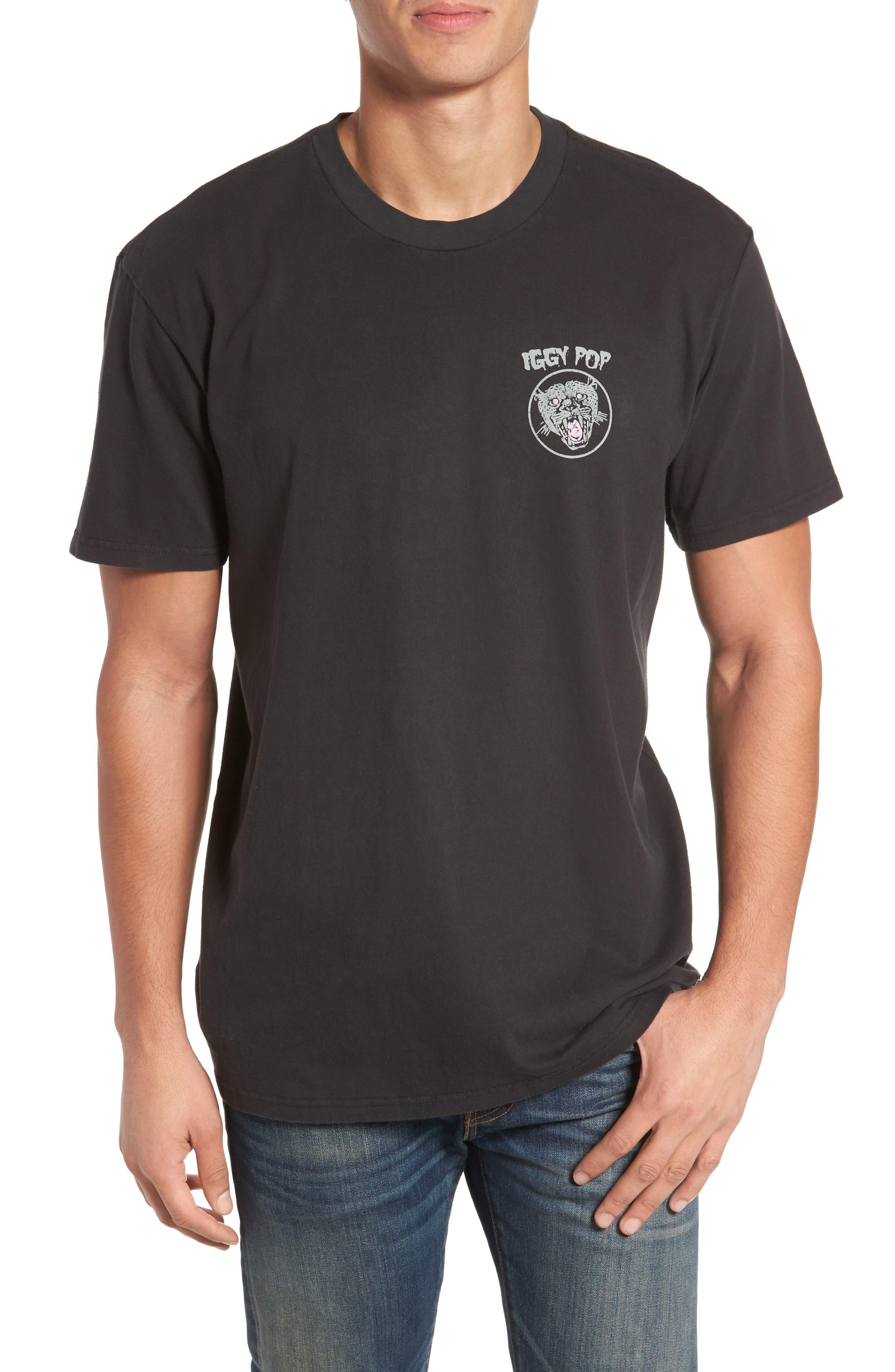 Alternate Image 1 Selected - Billabong x Iggy Pop Iggy Stack T-Shirt