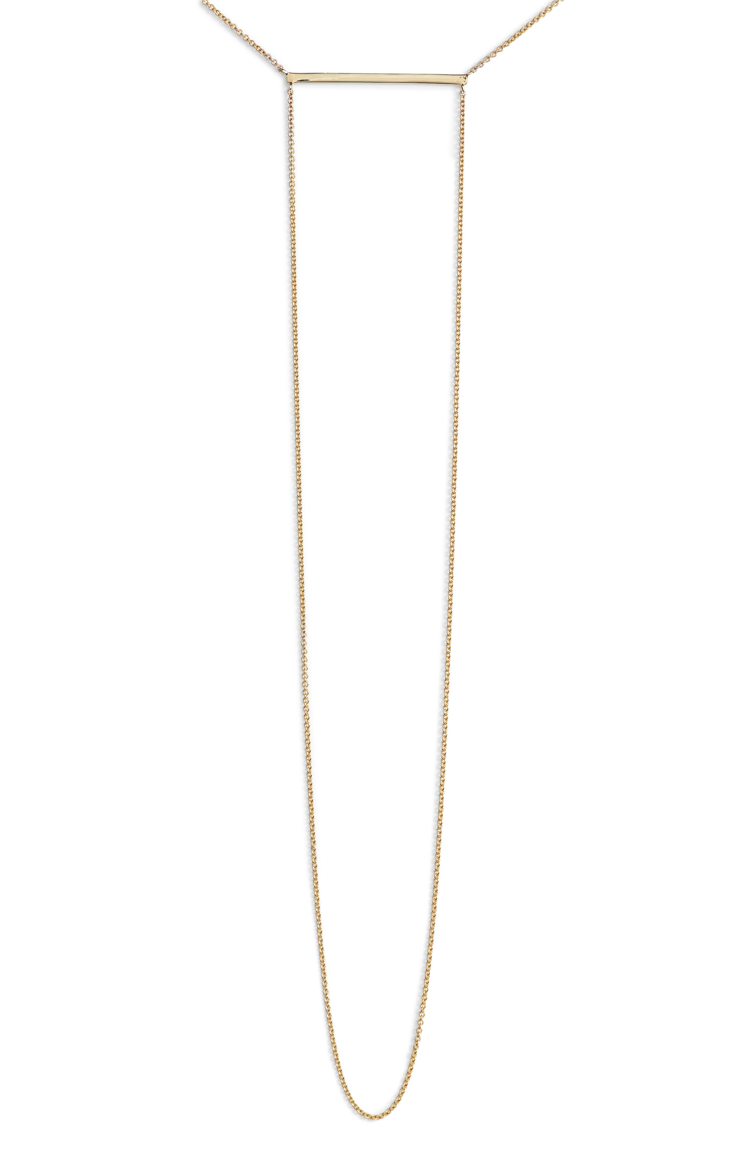 Alternate Image 2  - Bony Levy Drama Bar Pendant Necklace (Nordstrom Exclusive)