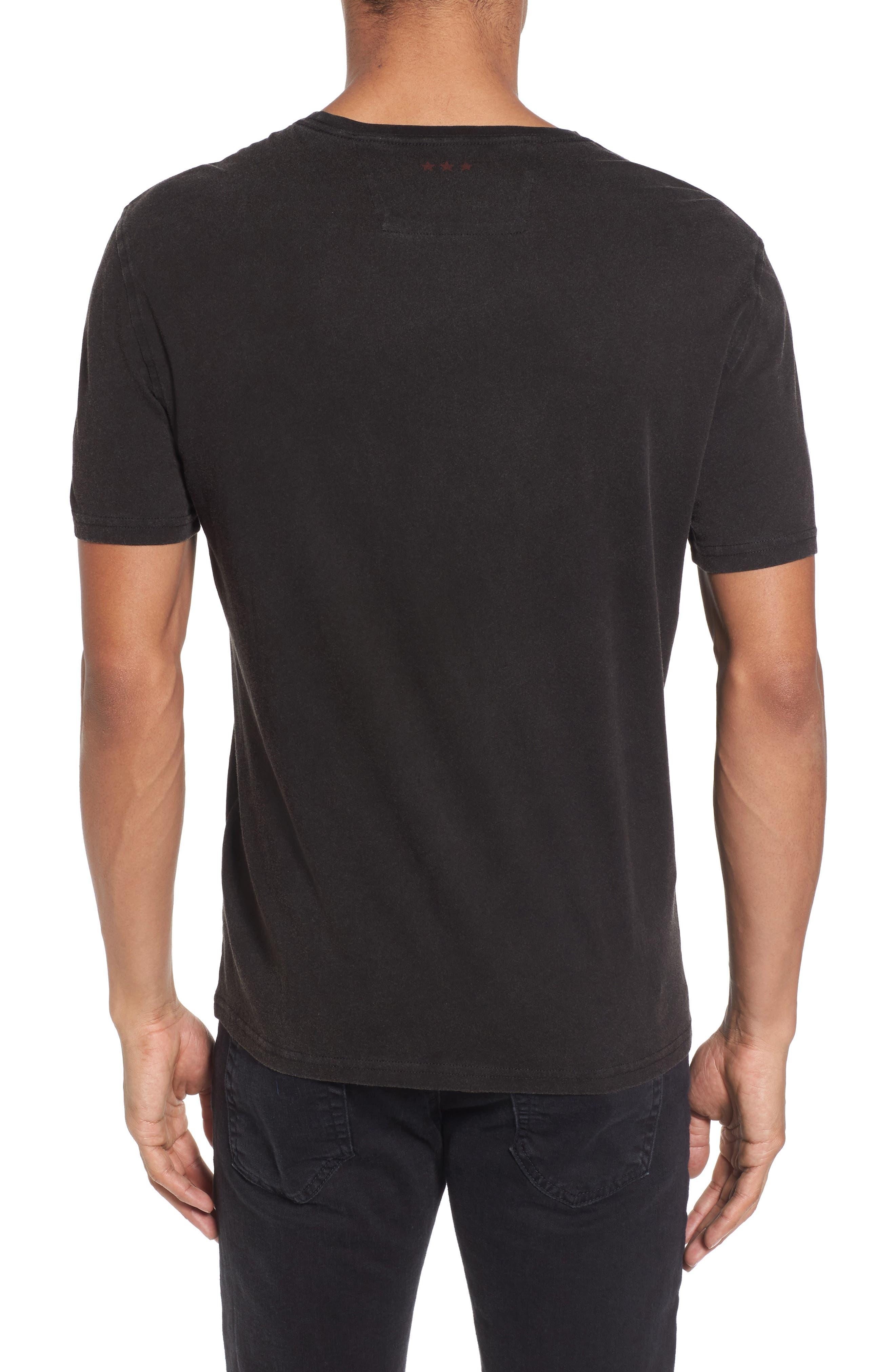 Alternate Image 2  - John Varvatos Star USA CBGB Jacket Graphic T-Shirt