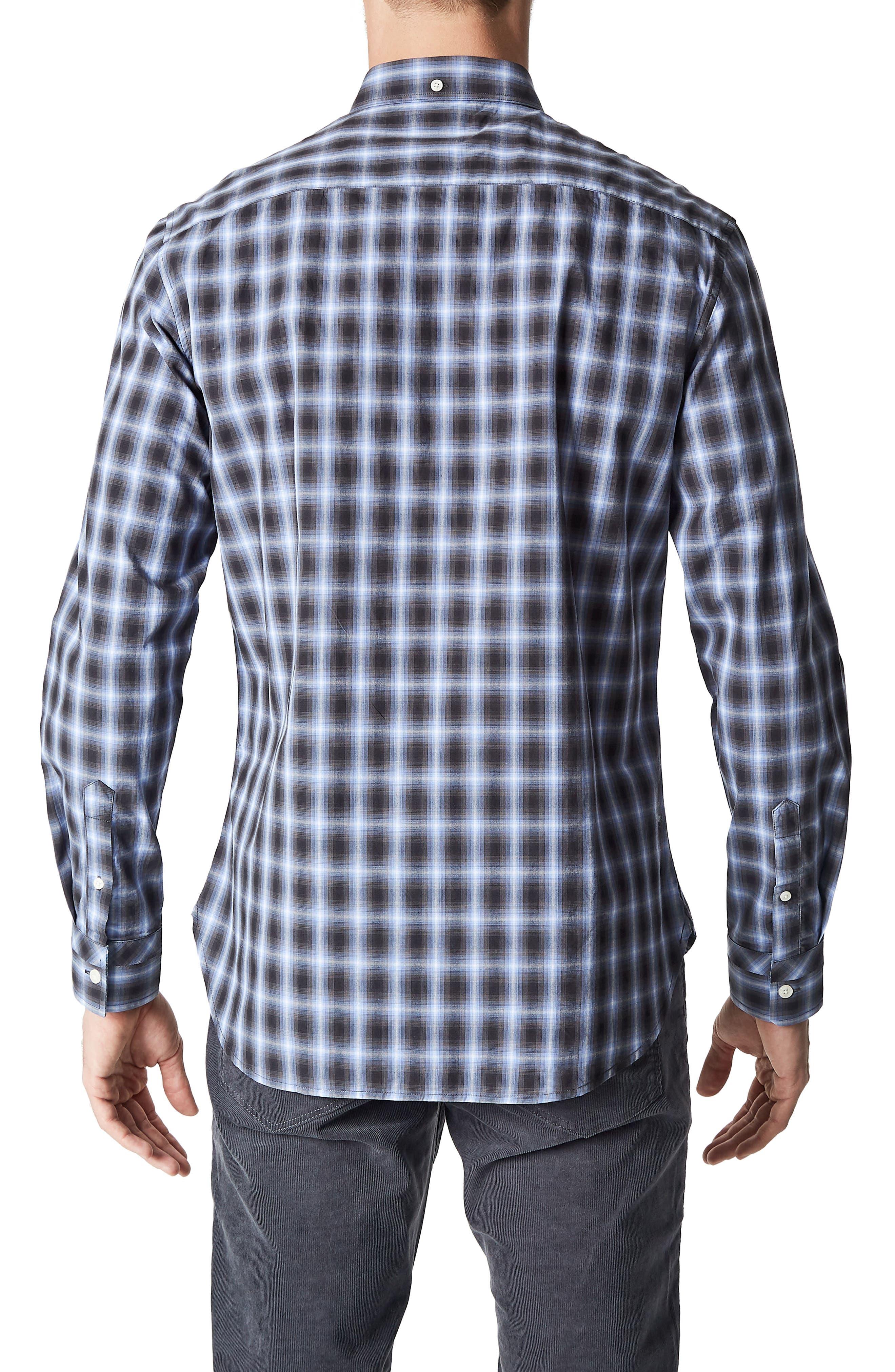 Higher Ground Woven Shirt,                             Alternate thumbnail 2, color,                             Blue