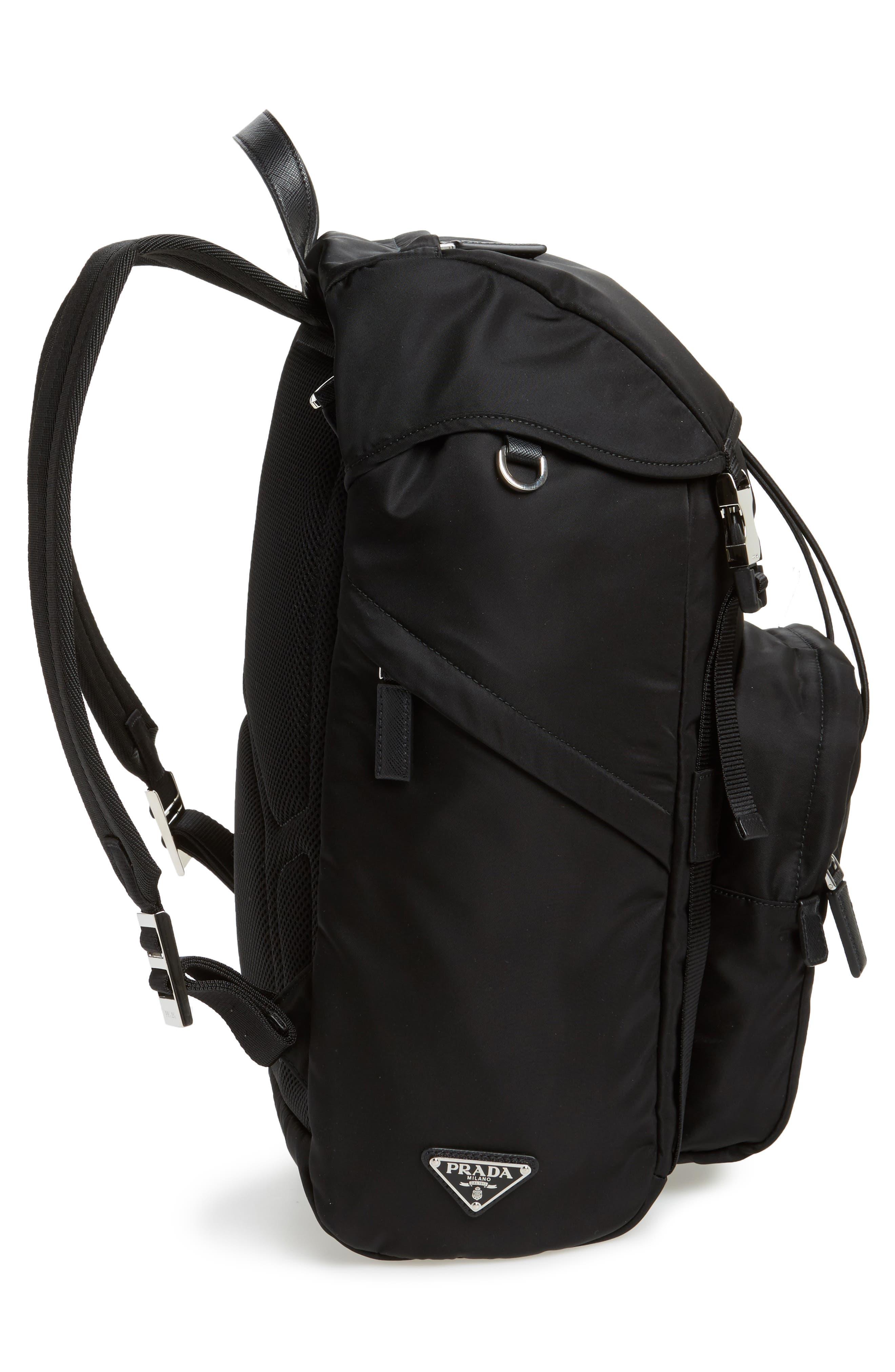 Alternate Image 5  - Prada Montagna Flap Backpack