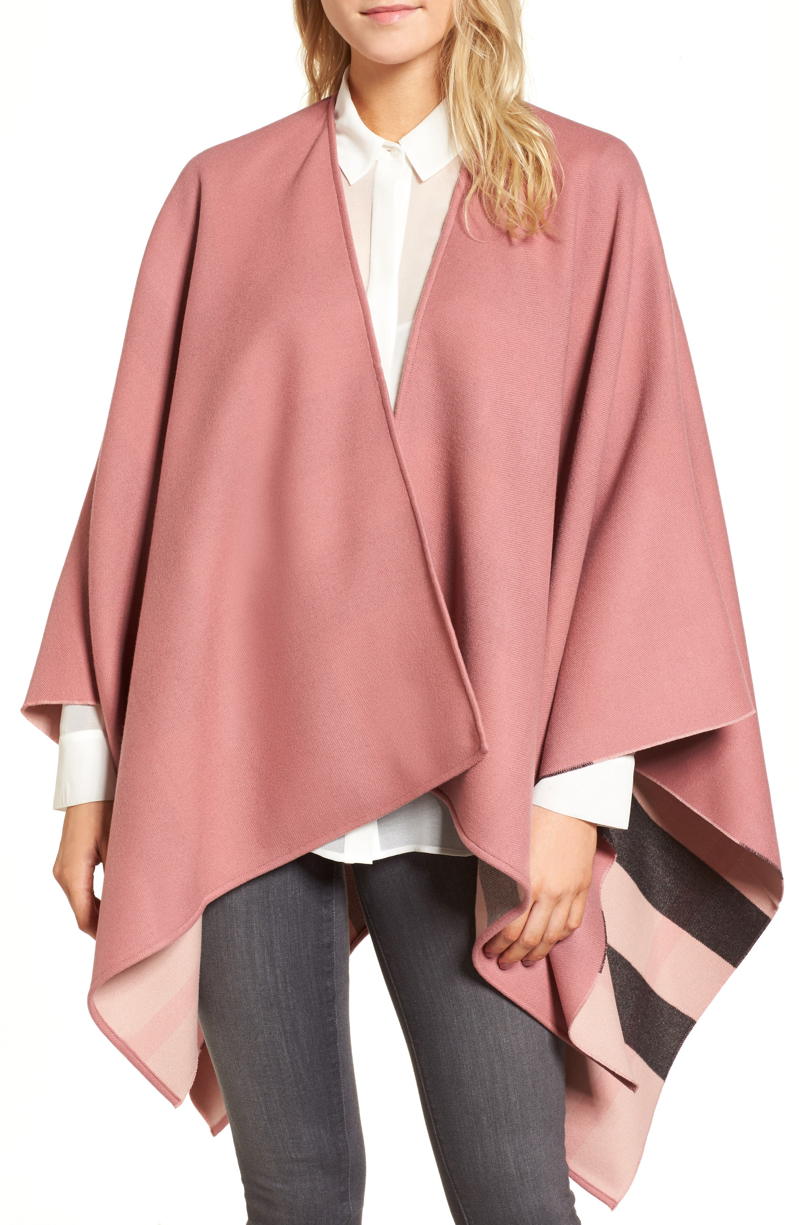 Burberry Merino Wool Reversible Wrap