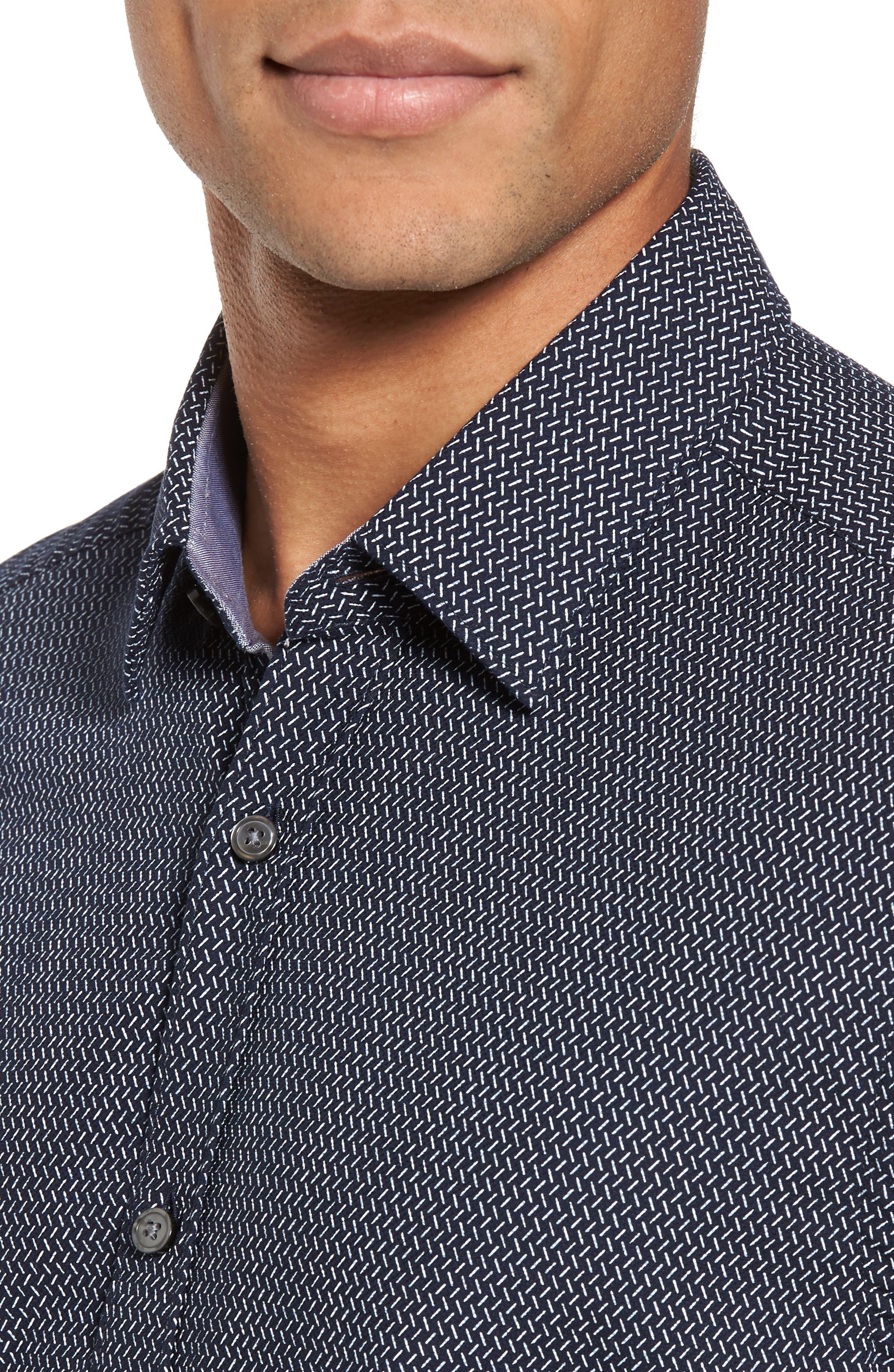 Alternate Image 4  - BOSS Lance Regular Fit Print Sport Shirt