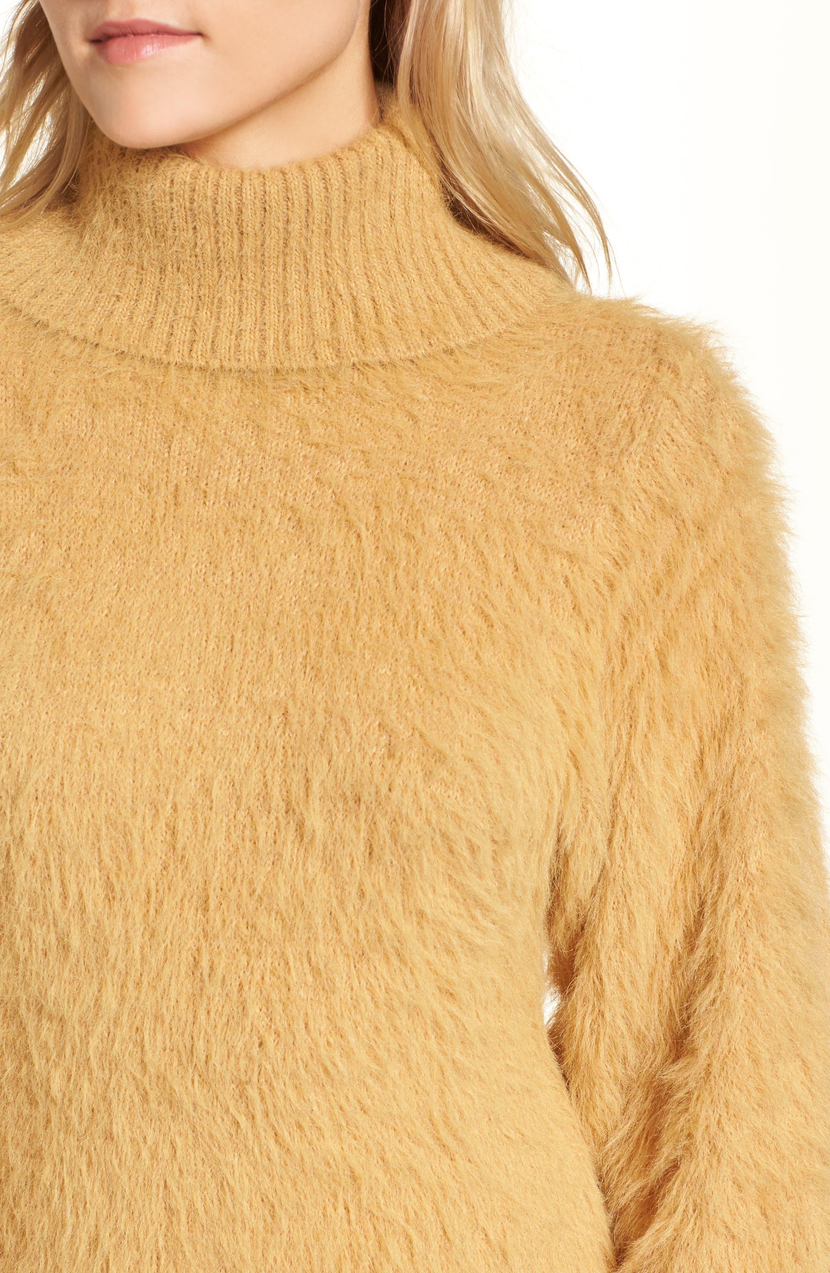 Alternate Image 5  - Free People Honey Turtleneck Minidress