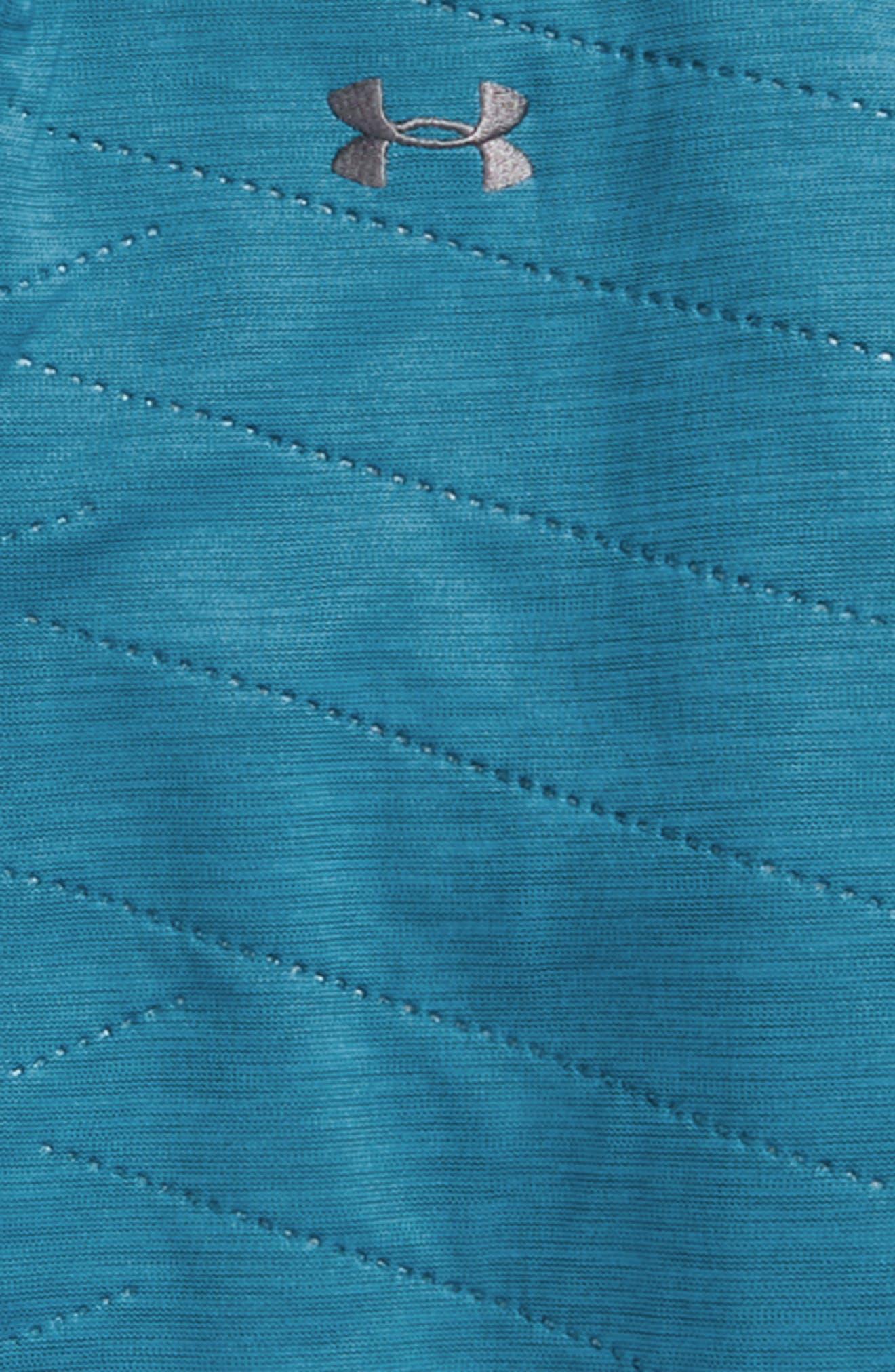 ColdGear<sup>®</sup> Reactor Hybrid Hooded Jacket,                             Alternate thumbnail 2, color,                             Bayou Blue/ Rhino Gray