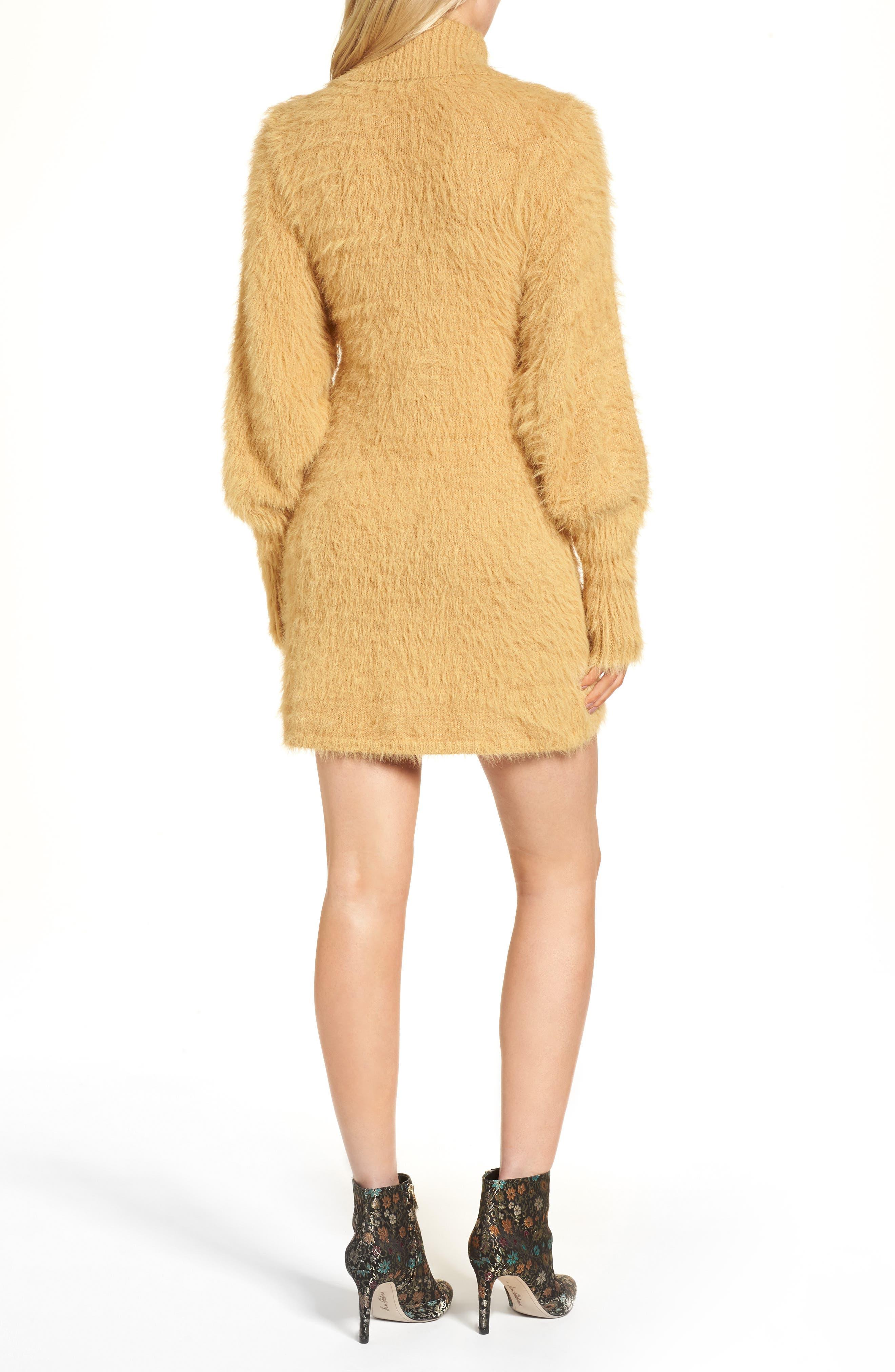 Alternate Image 3  - Free People Honey Turtleneck Minidress