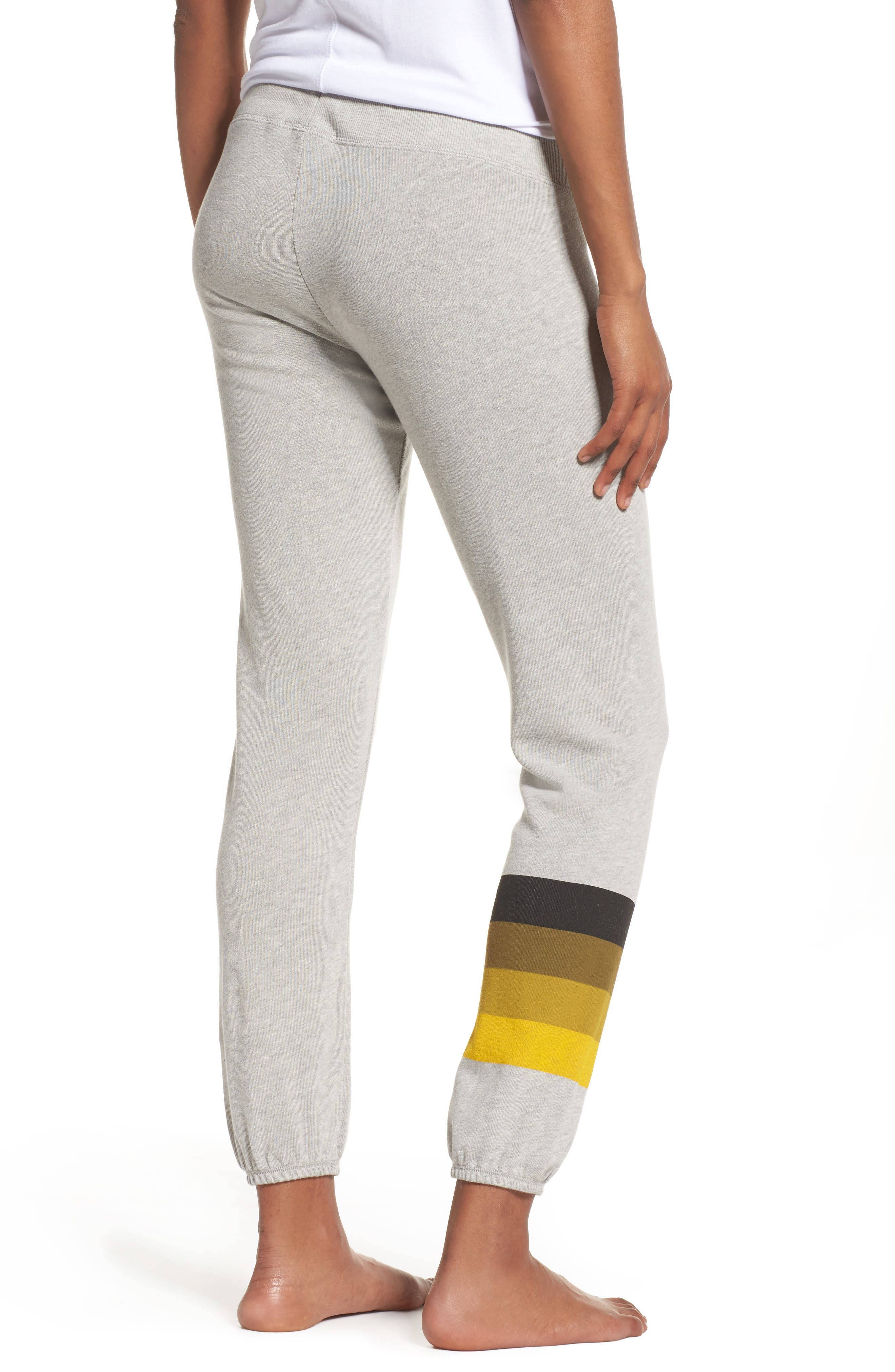 NFL Pittsburgh Steelers Hacci Sweatpants,                             Alternate thumbnail 2, color,                             Dove Heather Grey