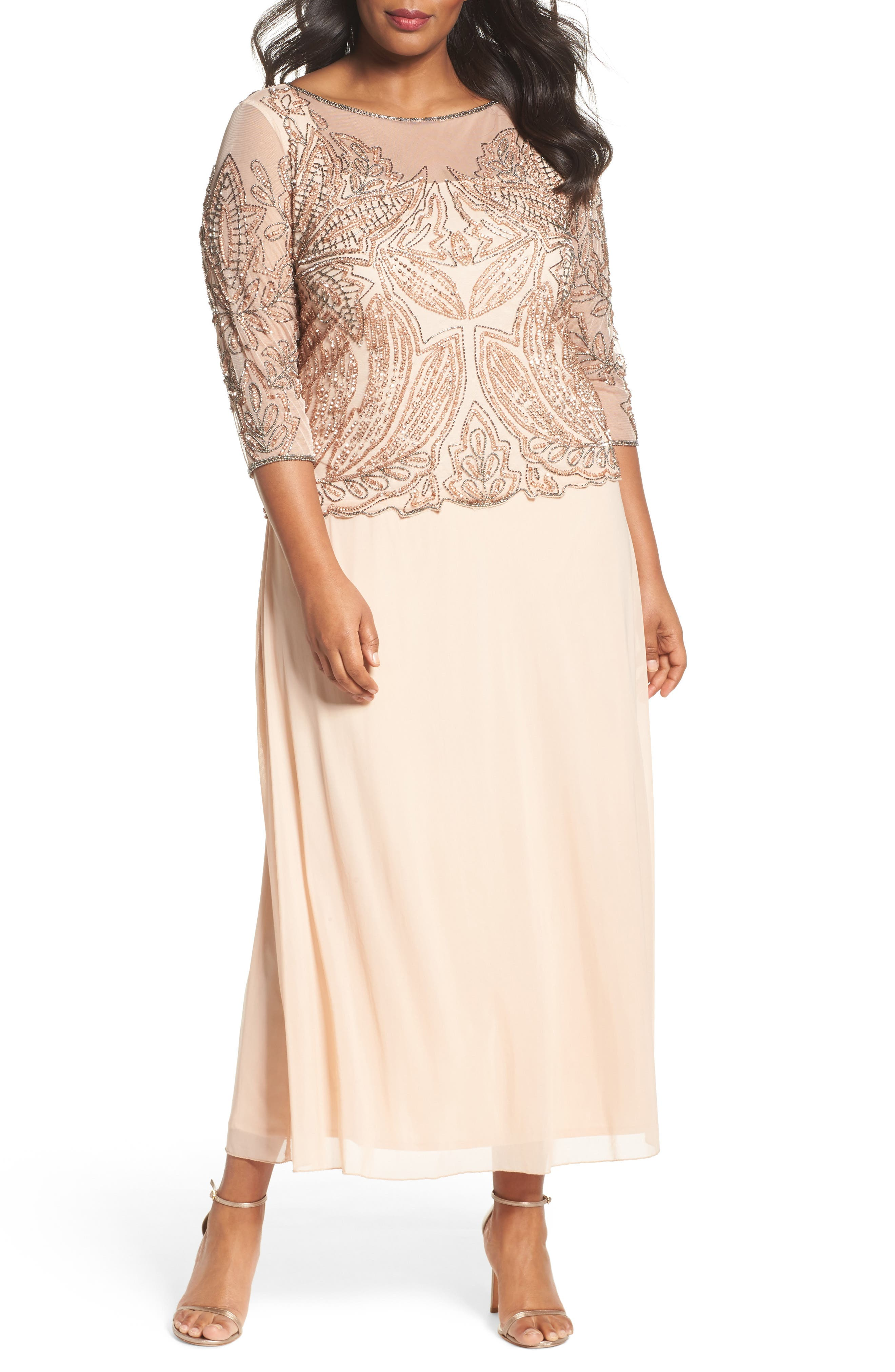 Plus Size Mother of Bride Dresses for Women