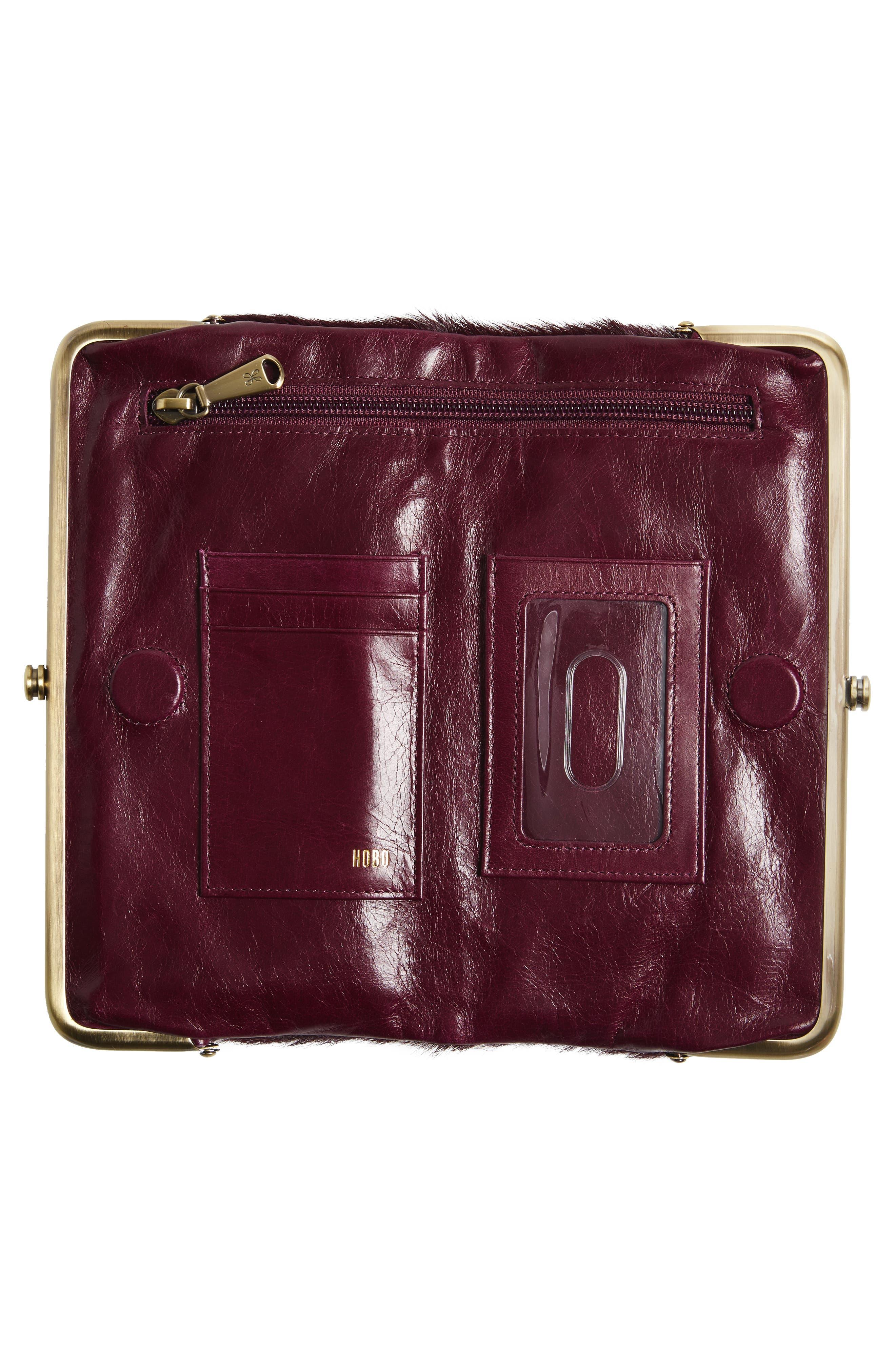 Alternate Image 2  - Hobo Lauren Colorblock Genuine Calf Hair & Calfskin Leather Wallet