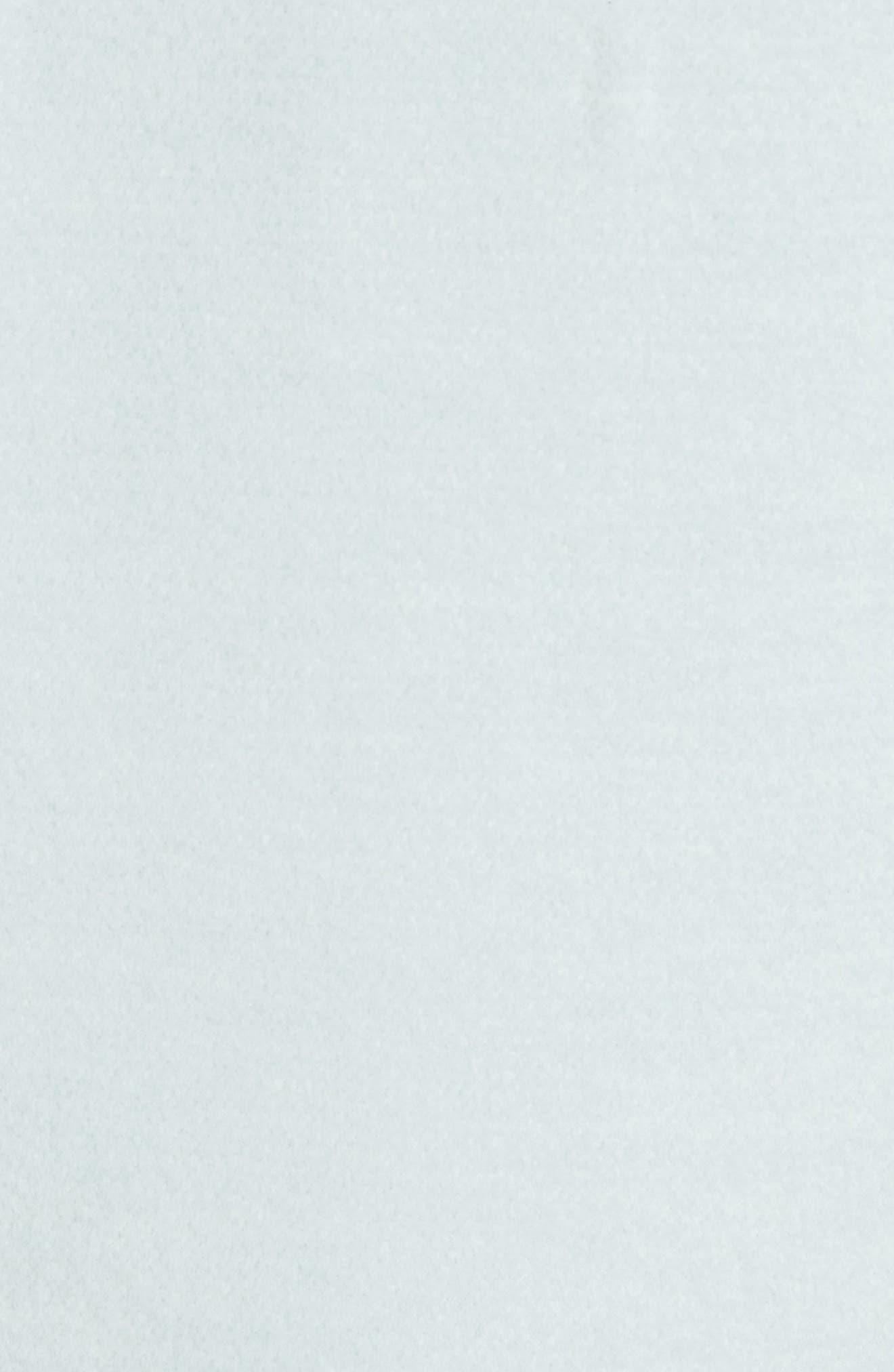 Reversible Wool & Angora Blend Sweatshirt,                             Alternate thumbnail 6, color,                             Mint/ Frost