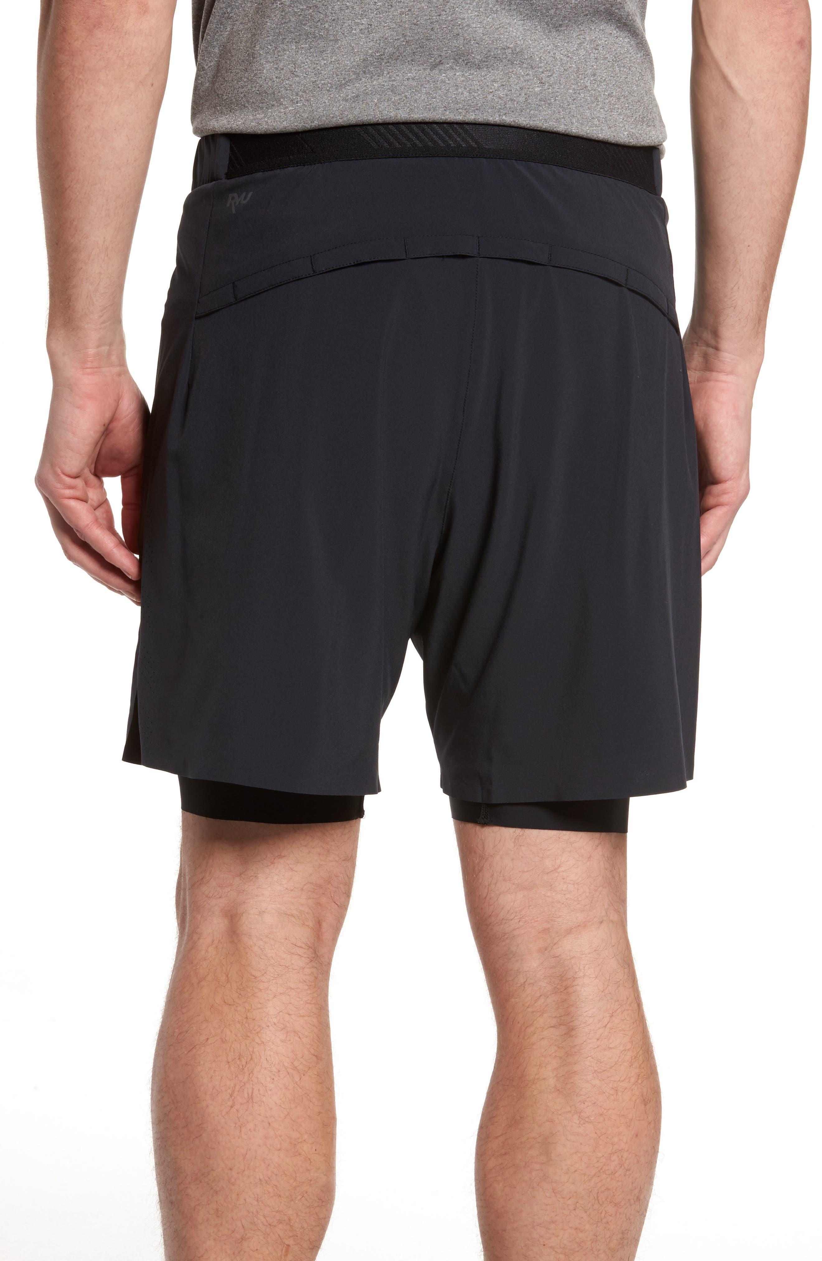 Interval 2-in-1 Shorts,                             Alternate thumbnail 2, color,                             Black