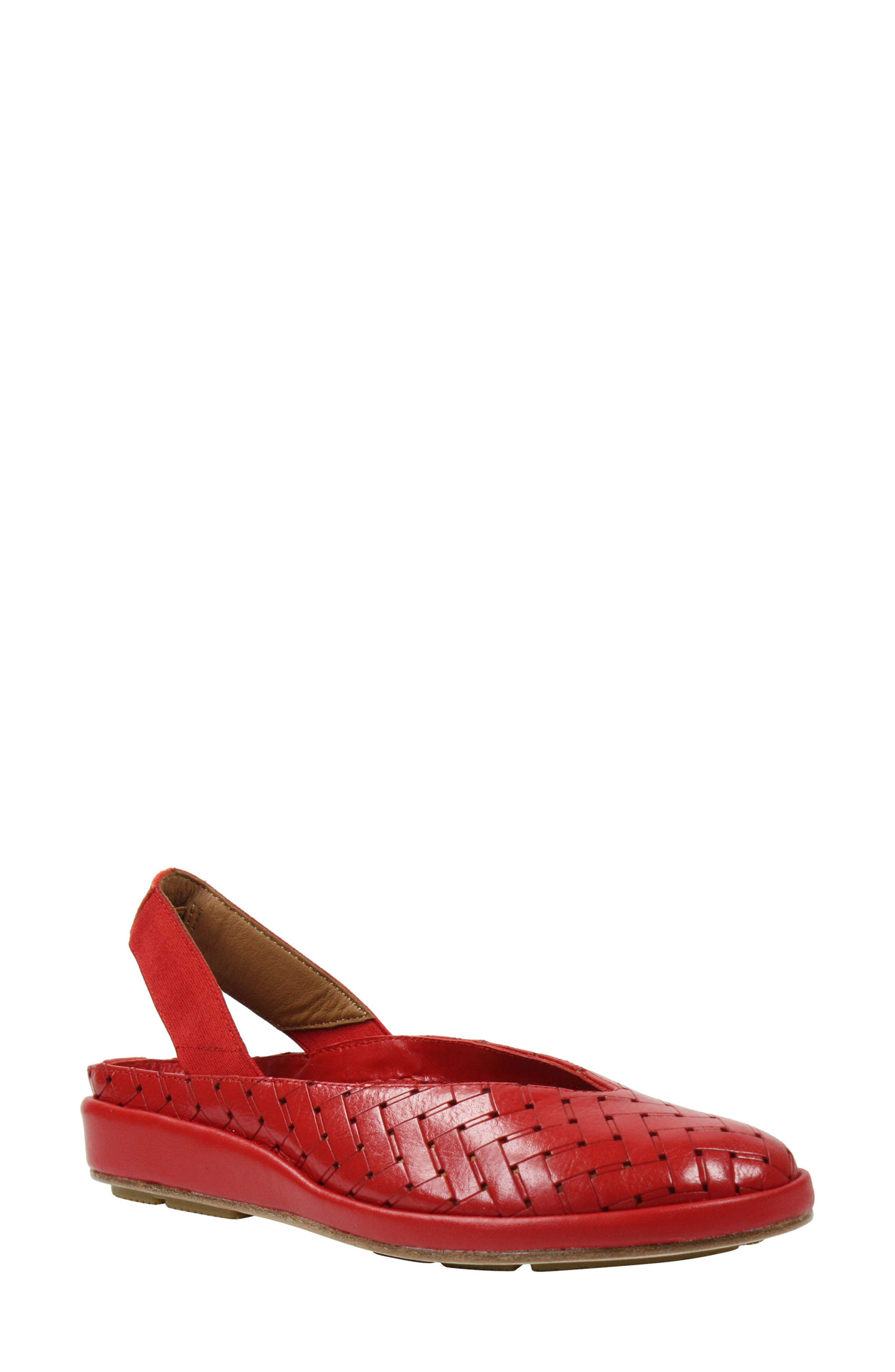 Alternate Image 1 Selected - L'Amour des Pieds 'Cypris' Slingback Wedge (Women)