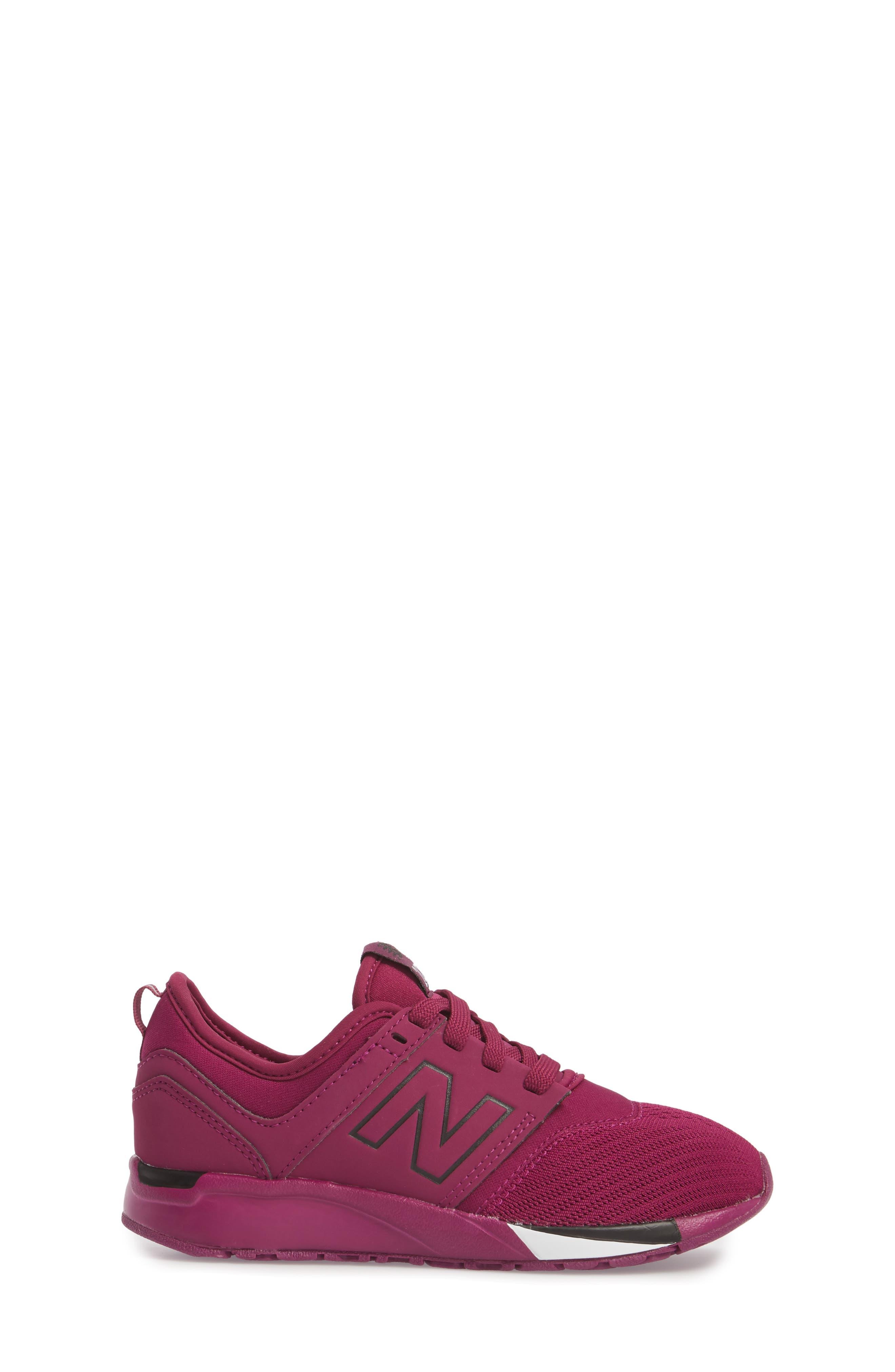247 Sport Sneaker,                             Alternate thumbnail 3, color,                             Red/ Black