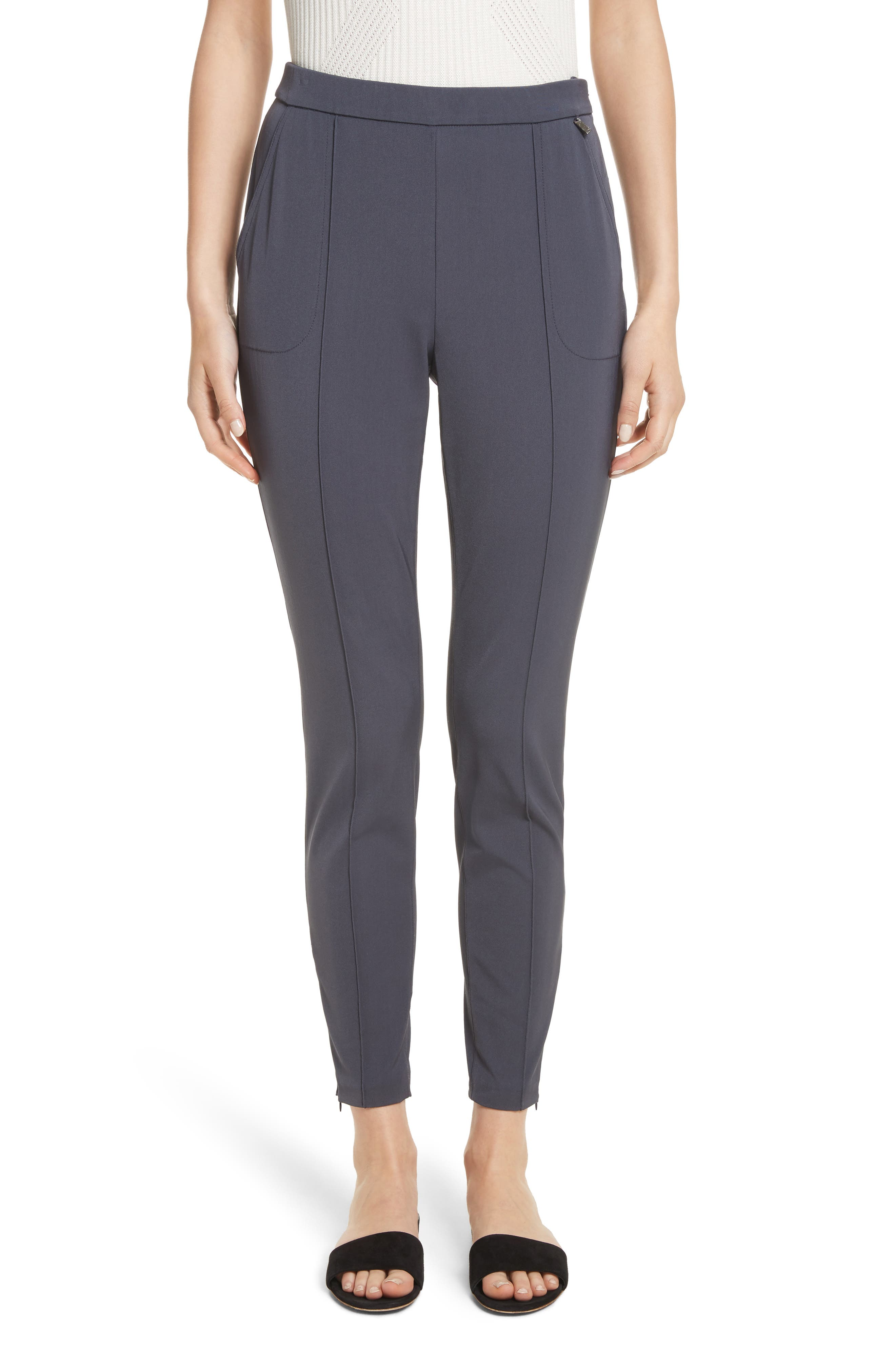 Stretch Tech Twill Pants,                         Main,                         color, Anthracite