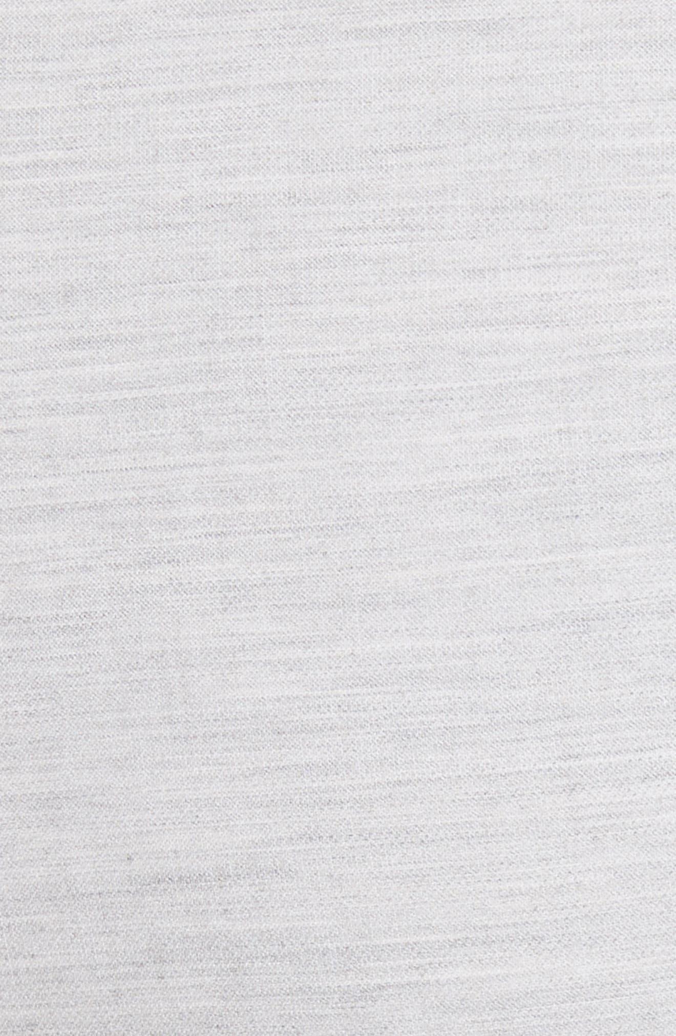 Summer Bella Double Weave Pants,                             Alternate thumbnail 10, color,                             Light Grey Melange