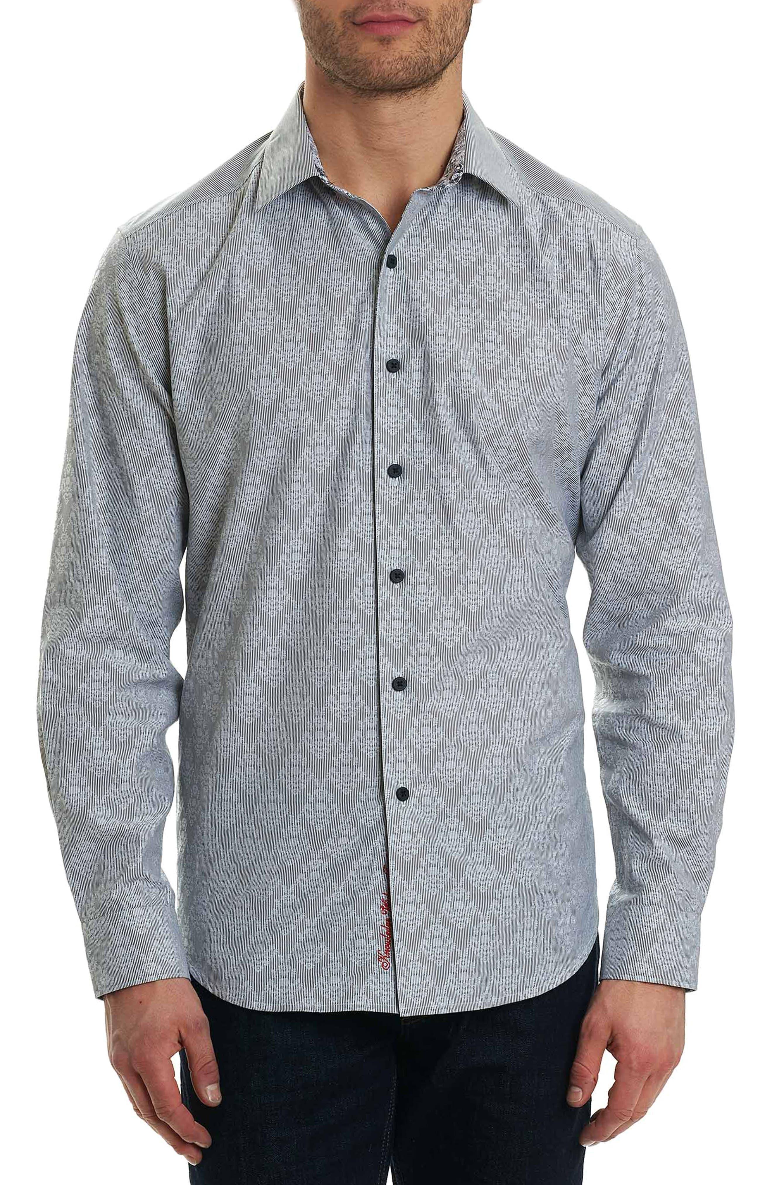Dynamo Regular Fit Sport Shirt,                             Main thumbnail 1, color,                             Grey