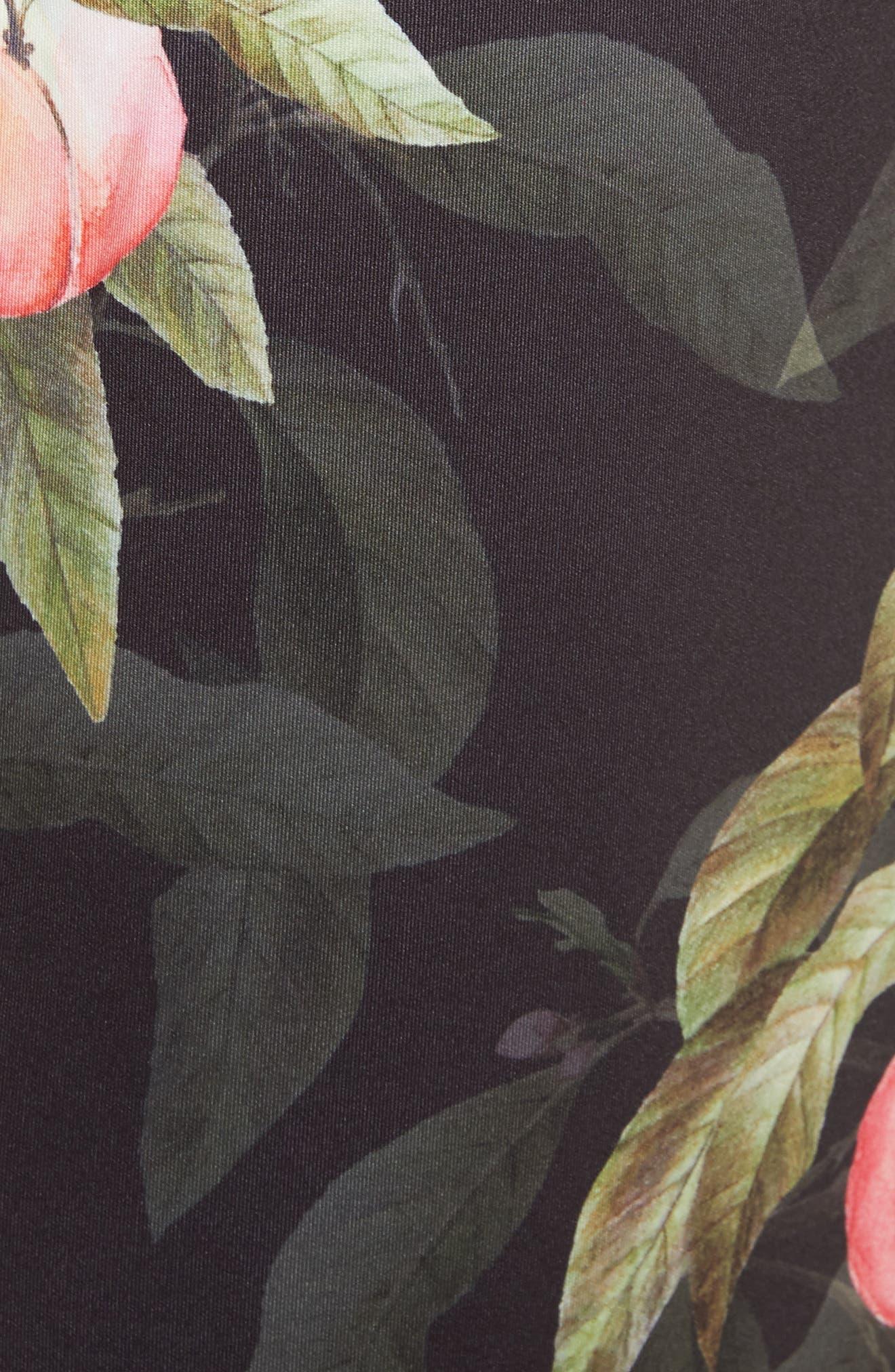 Alternate Image 5  - Ted Baker London Peaches Ruffle Pencil Skirt